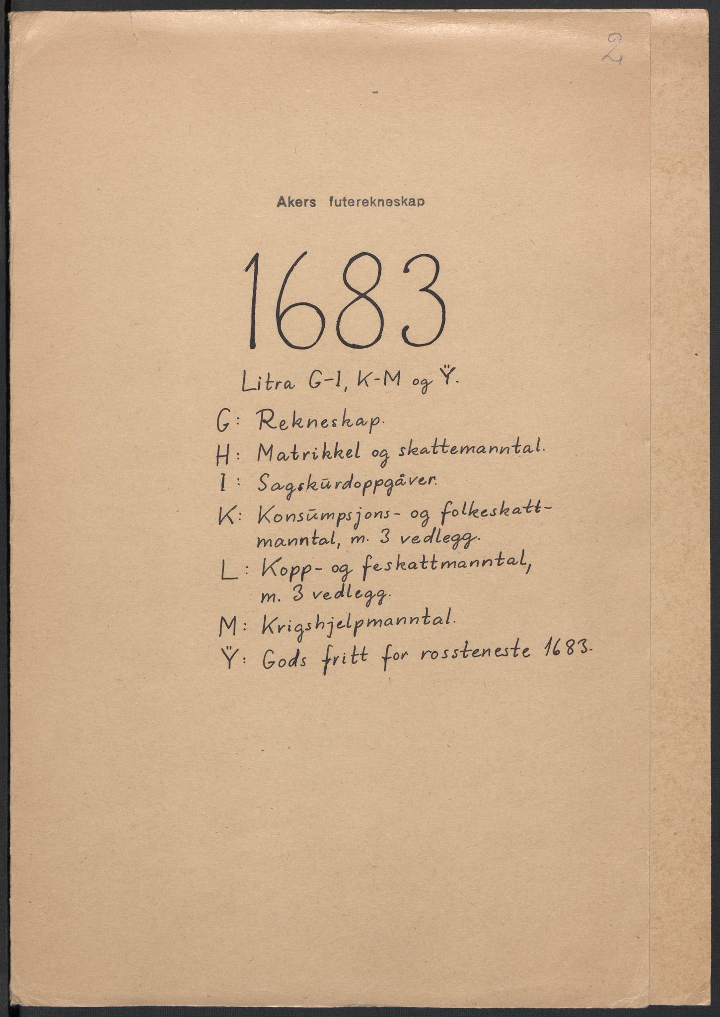 RA, Rentekammeret inntil 1814, Reviderte regnskaper, Fogderegnskap, R08/L0420: Fogderegnskap Aker, 1682-1691, s. 211