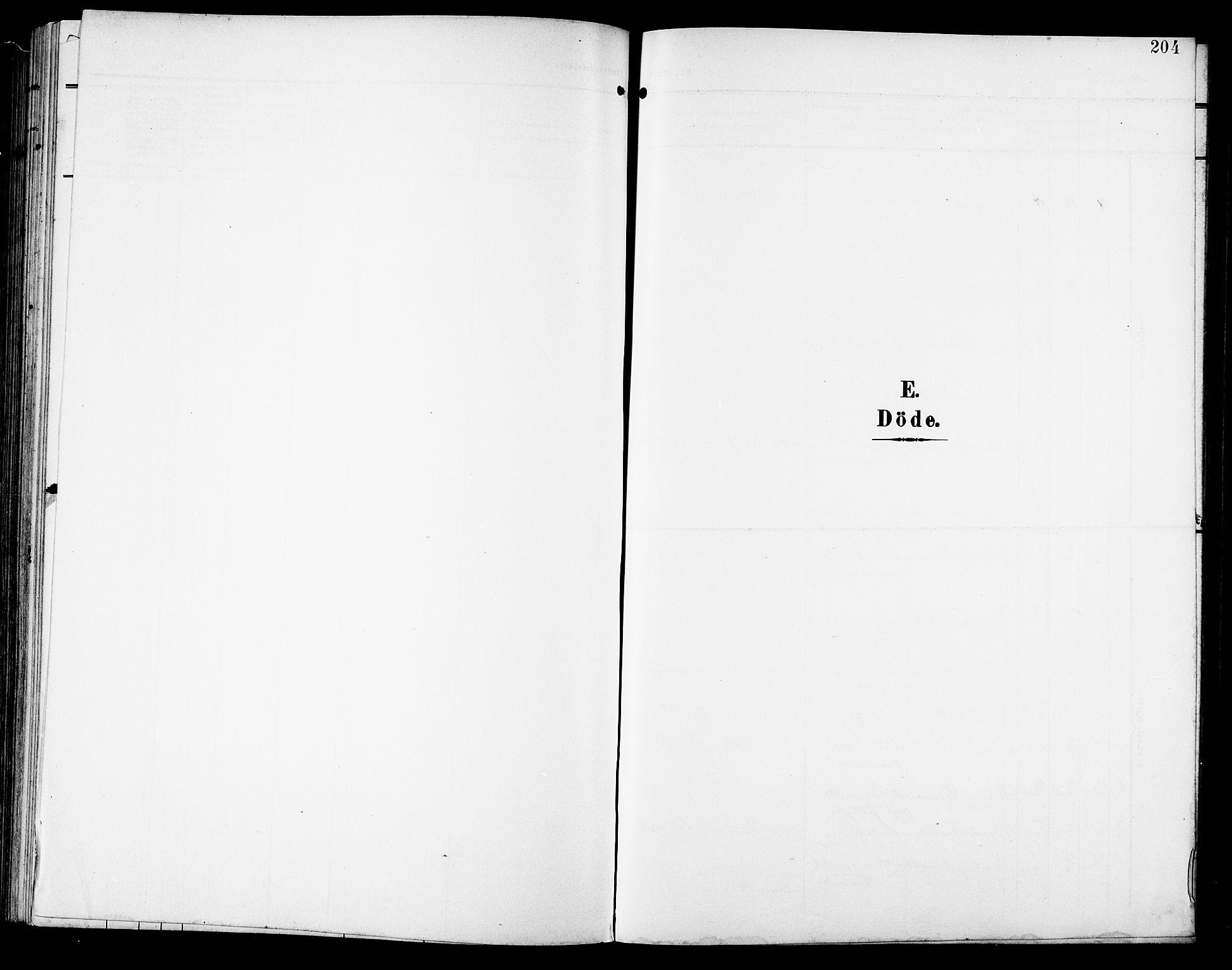SAT, Ministerialprotokoller, klokkerbøker og fødselsregistre - Sør-Trøndelag, 672/L0864: Klokkerbok nr. 672C03, 1902-1914, s. 204