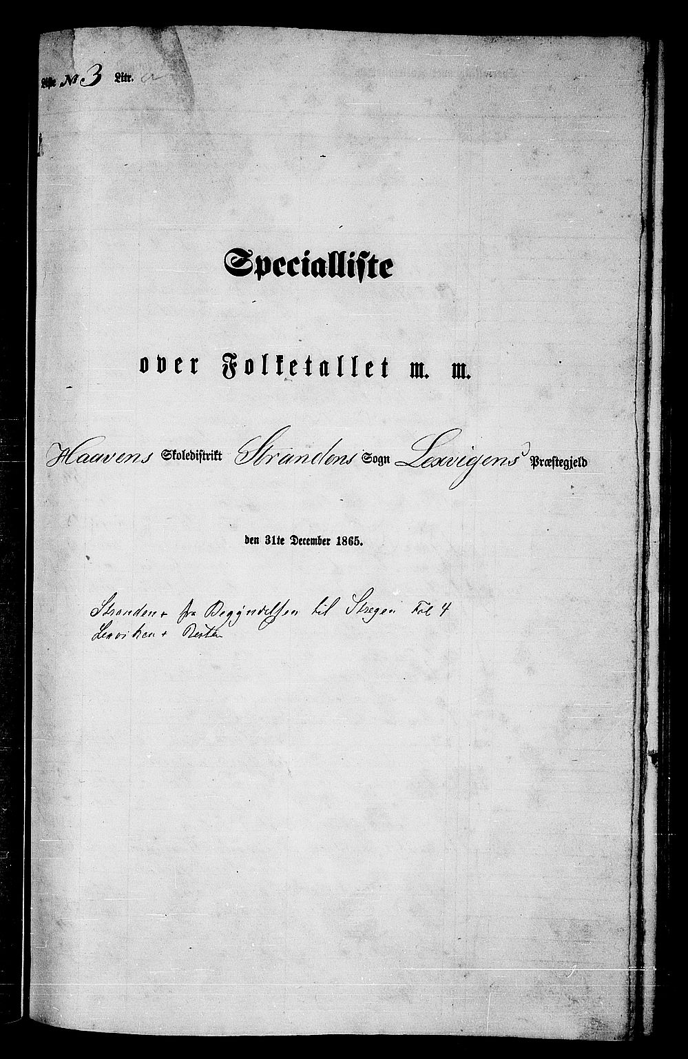 RA, Folketelling 1865 for 1718P Leksvik prestegjeld, 1865, s. 58
