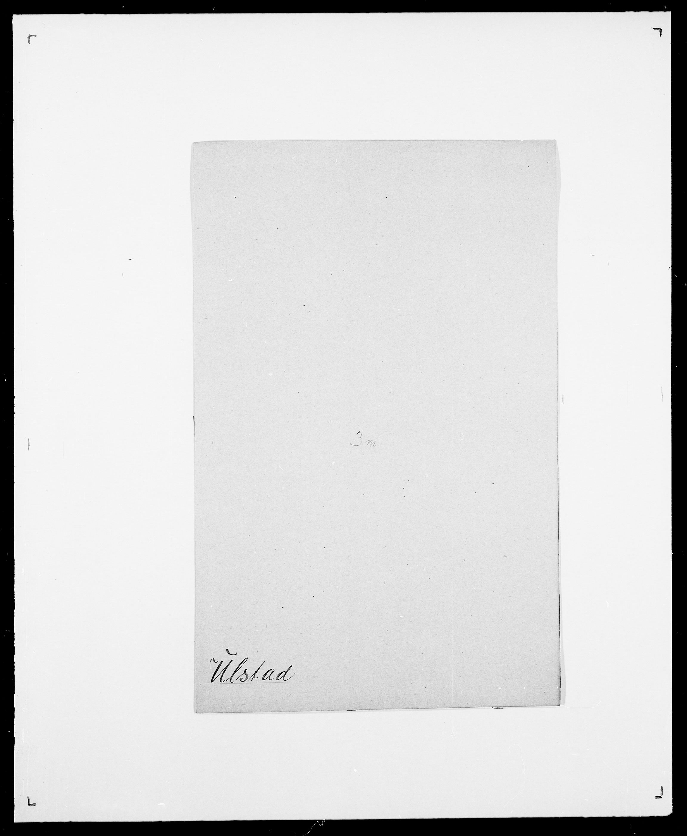 SAO, Delgobe, Charles Antoine - samling, D/Da/L0039: Thorsen - Urup, s. 696