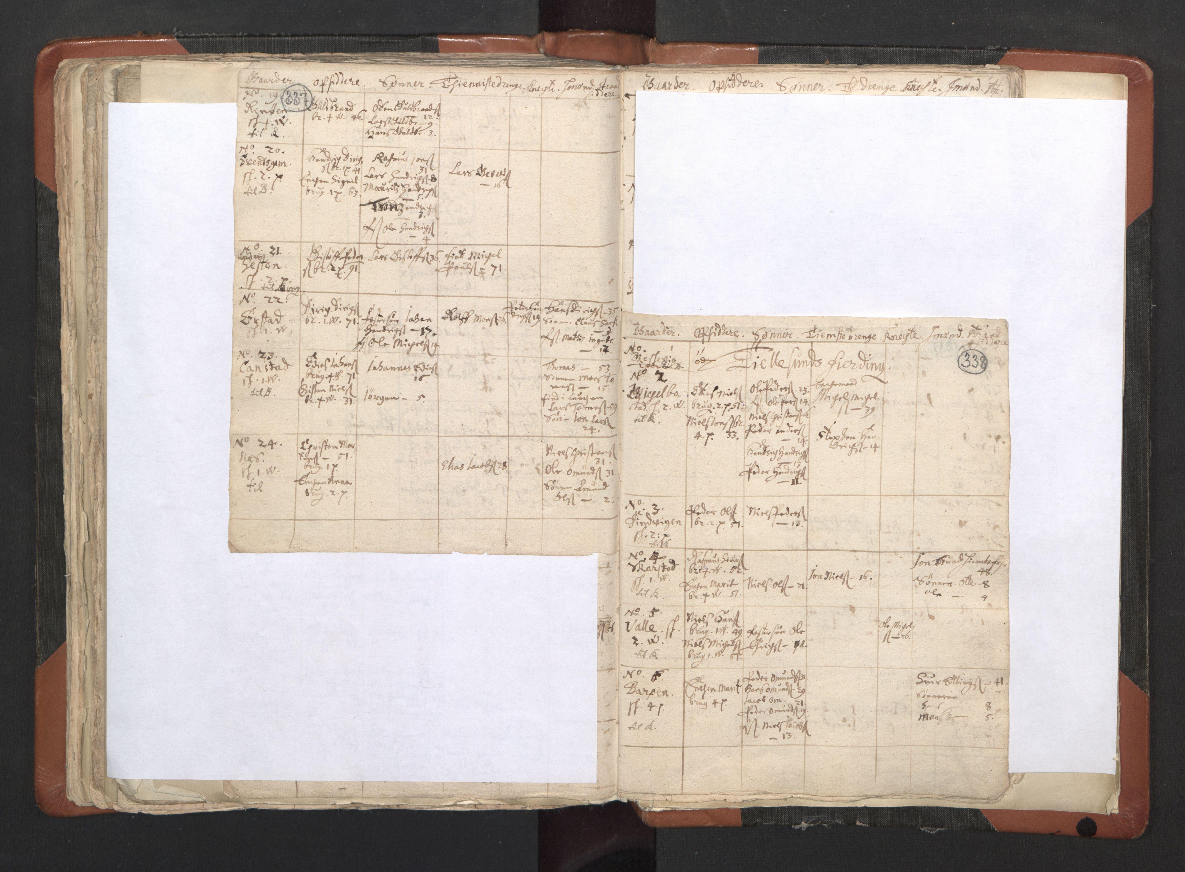 RA, Sogneprestenes manntall 1664-1666, nr. 35: Helgeland prosti og Salten prosti, 1664-1666, s. 337-338