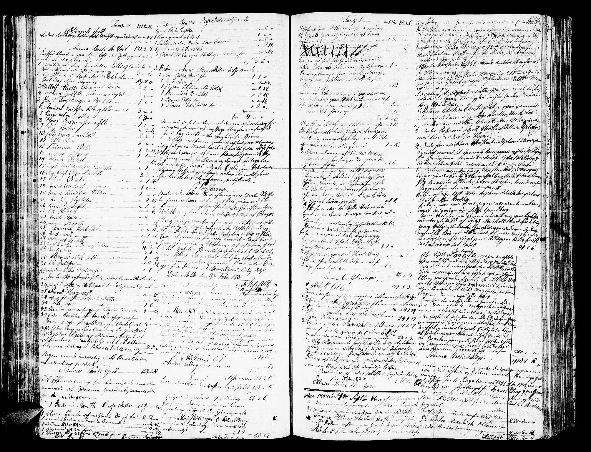 SAT, Romsdal sorenskriveri, 3/3A/L0013: Skifteprotokoll, 1802-1812, s. 280b-281a