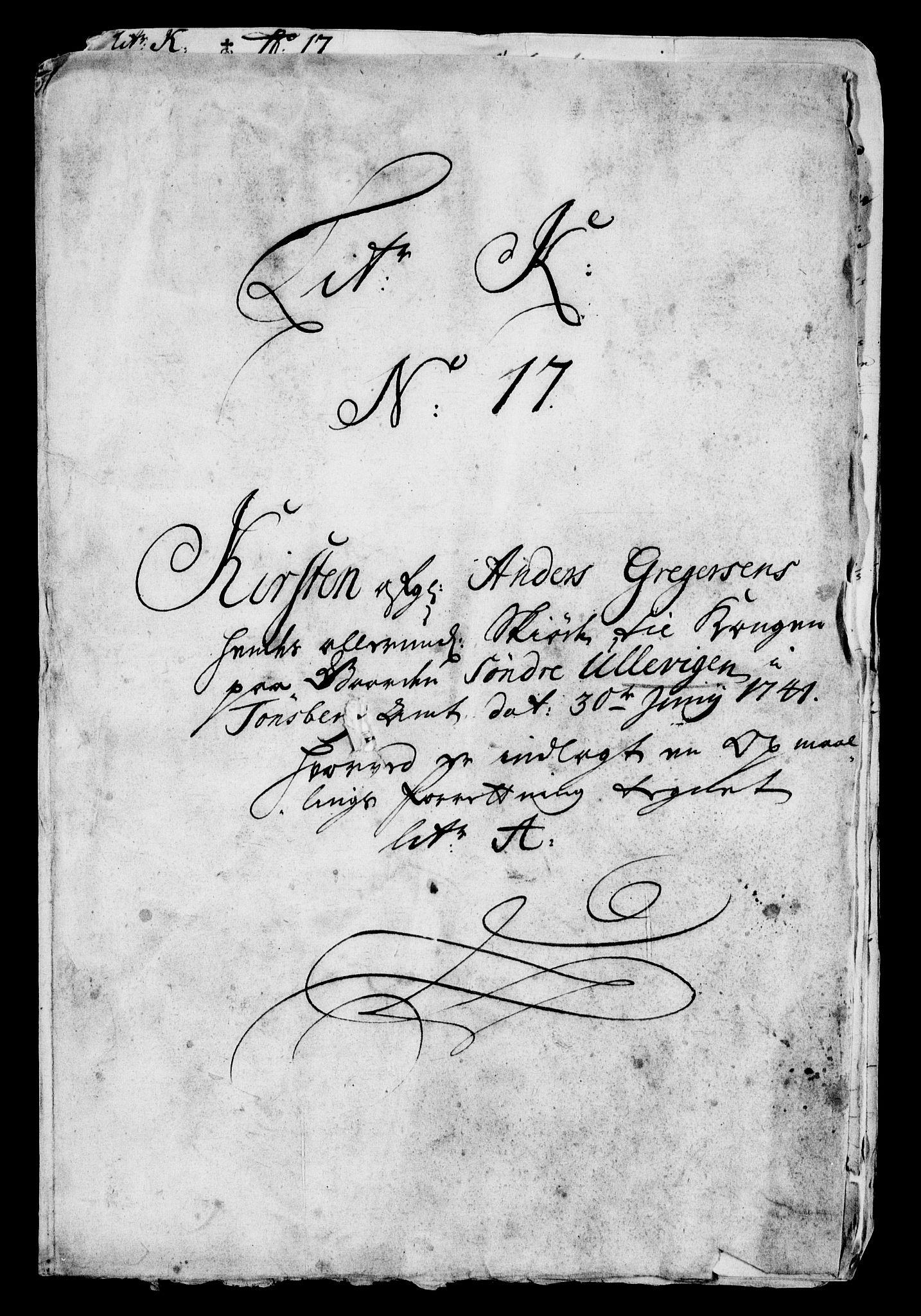 RA, Rentekammeret inntil 1814, Realistisk ordnet avdeling, On/L0009: [Jj 9]: Forskjellige skjøter og makeskifter med kirker og prestebord. Ervervelsen av Vallø saltverks eiendommer, s. 20