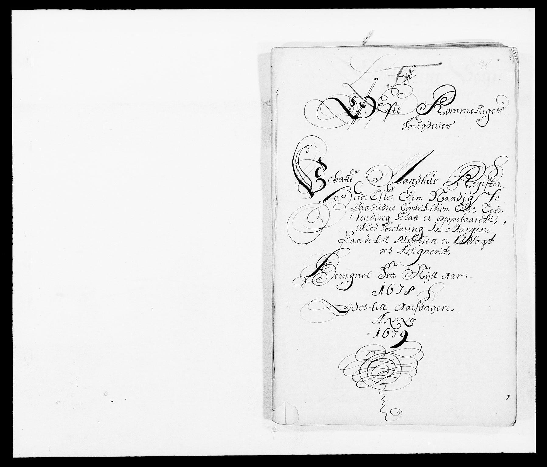RA, Rentekammeret inntil 1814, Reviderte regnskaper, Fogderegnskap, R12/L0693: Fogderegnskap Øvre Romerike, 1678-1679, s. 151