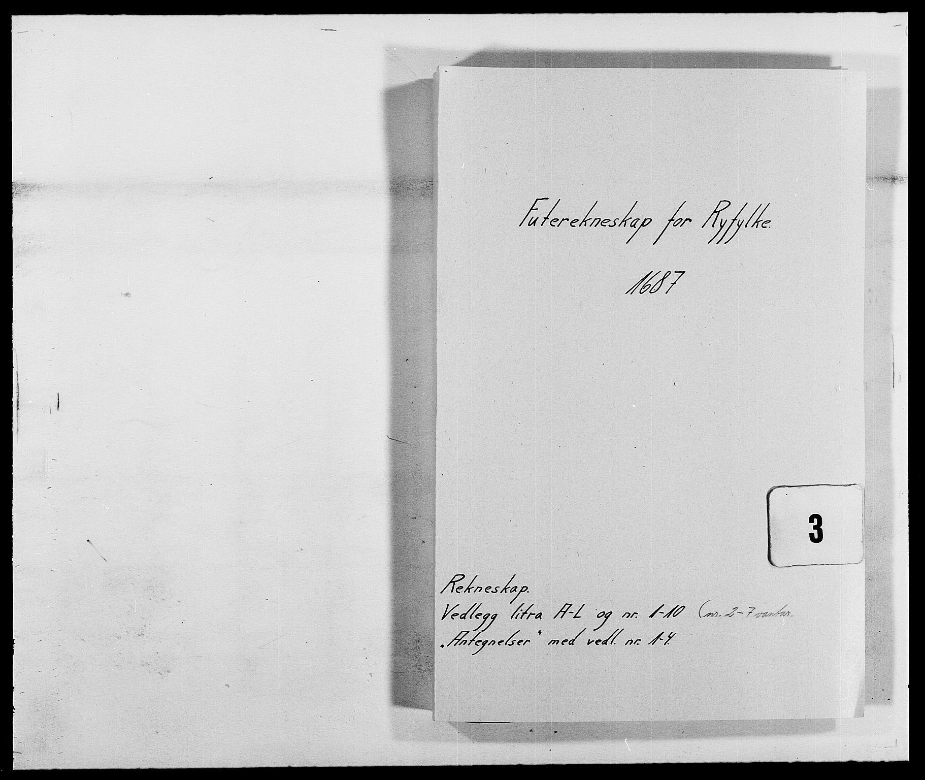 RA, Rentekammeret inntil 1814, Reviderte regnskaper, Fogderegnskap, R47/L2855: Fogderegnskap Ryfylke, 1685-1688, s. 222