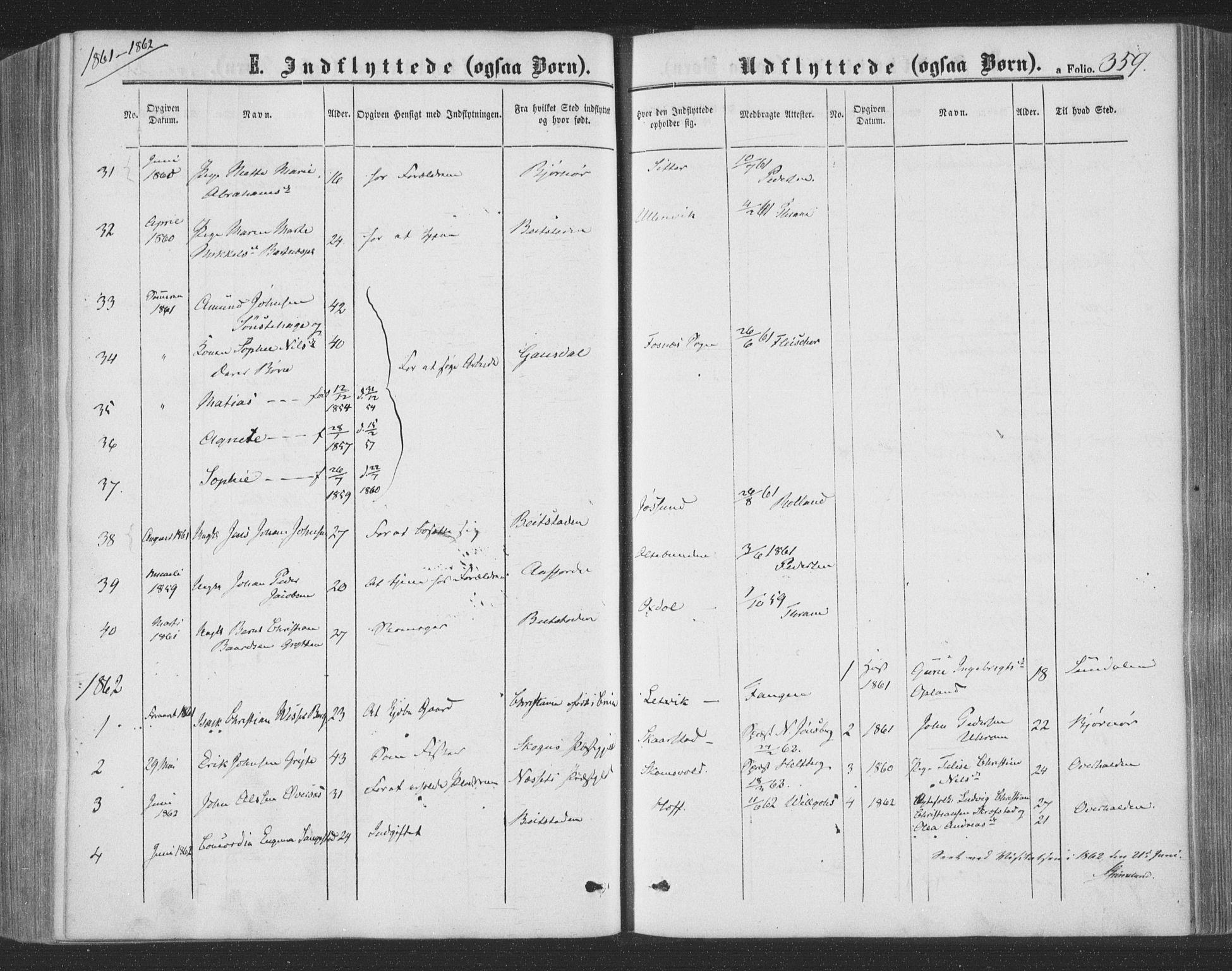 SAT, Ministerialprotokoller, klokkerbøker og fødselsregistre - Nord-Trøndelag, 773/L0615: Ministerialbok nr. 773A06, 1857-1870, s. 359