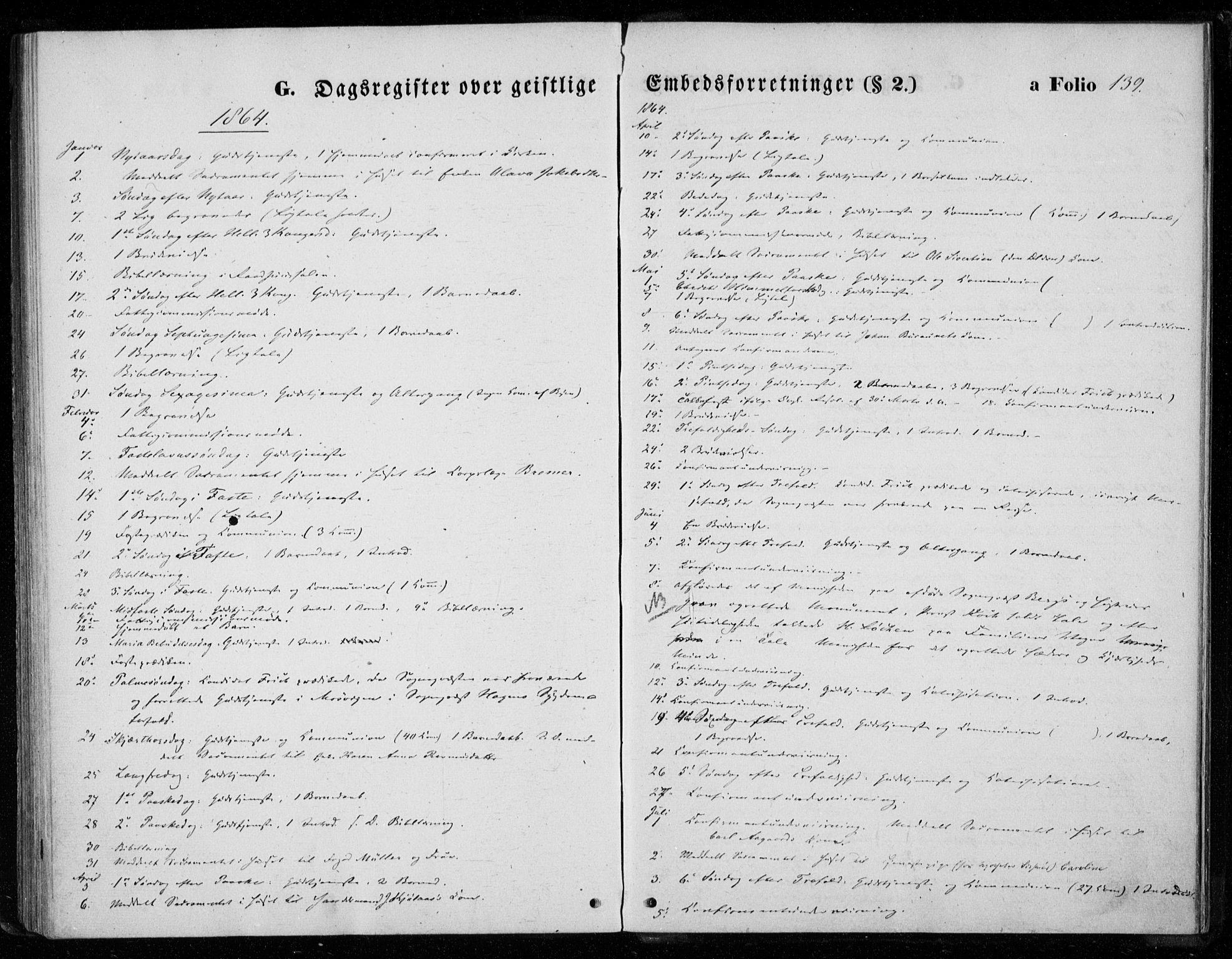 SAT, Ministerialprotokoller, klokkerbøker og fødselsregistre - Nord-Trøndelag, 720/L0186: Ministerialbok nr. 720A03, 1864-1874, s. 139