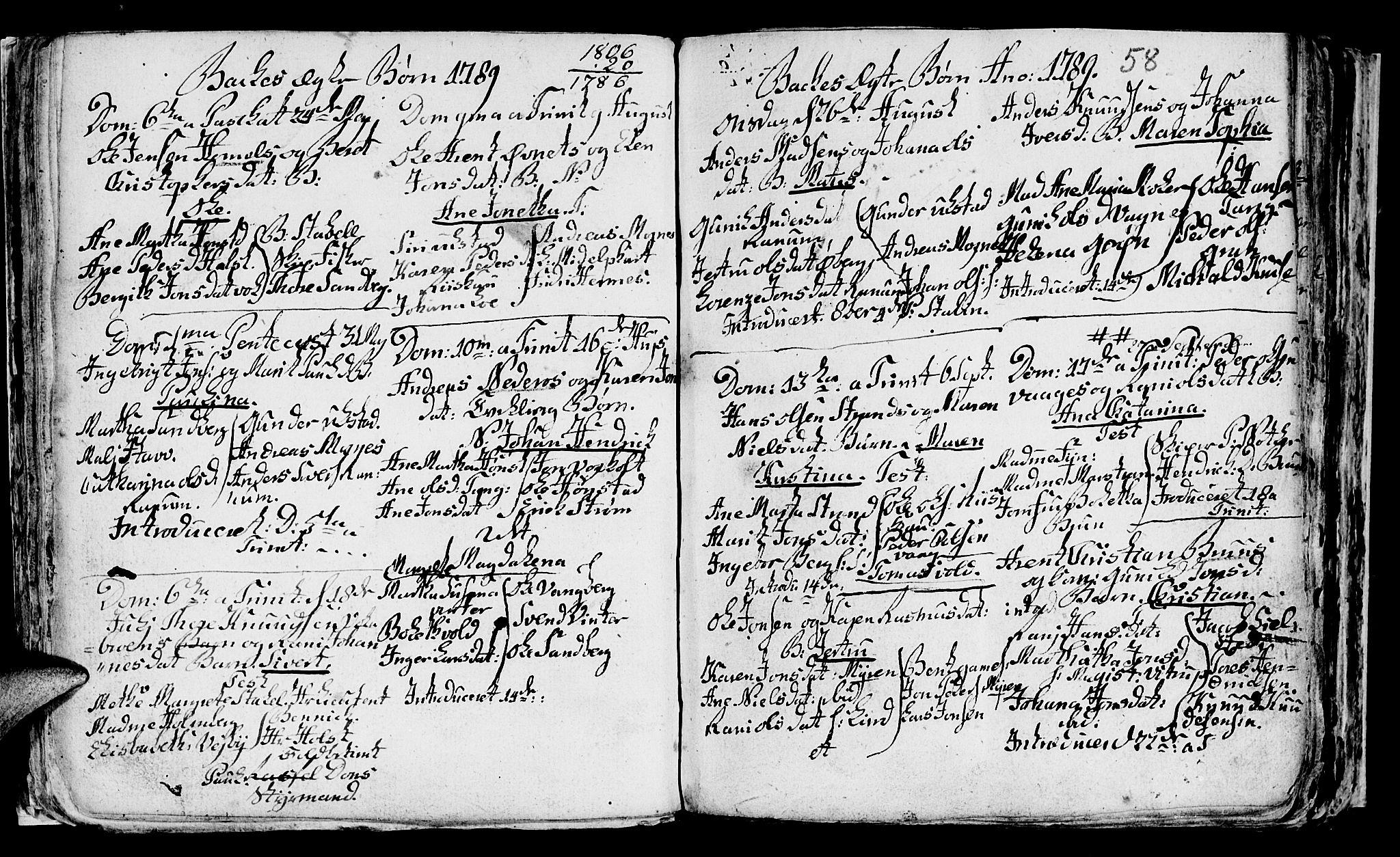 SAT, Ministerialprotokoller, klokkerbøker og fødselsregistre - Sør-Trøndelag, 604/L0218: Klokkerbok nr. 604C01, 1754-1819, s. 58
