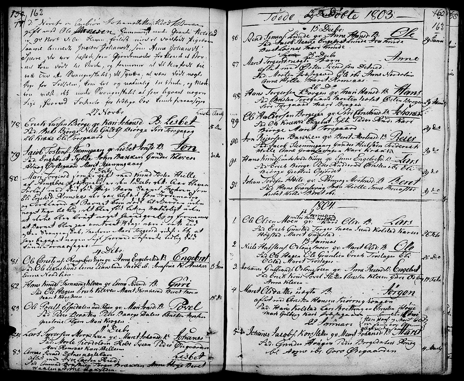 SAH, Ringebu prestekontor, Ministerialbok nr. 3, 1781-1820, s. 162-163
