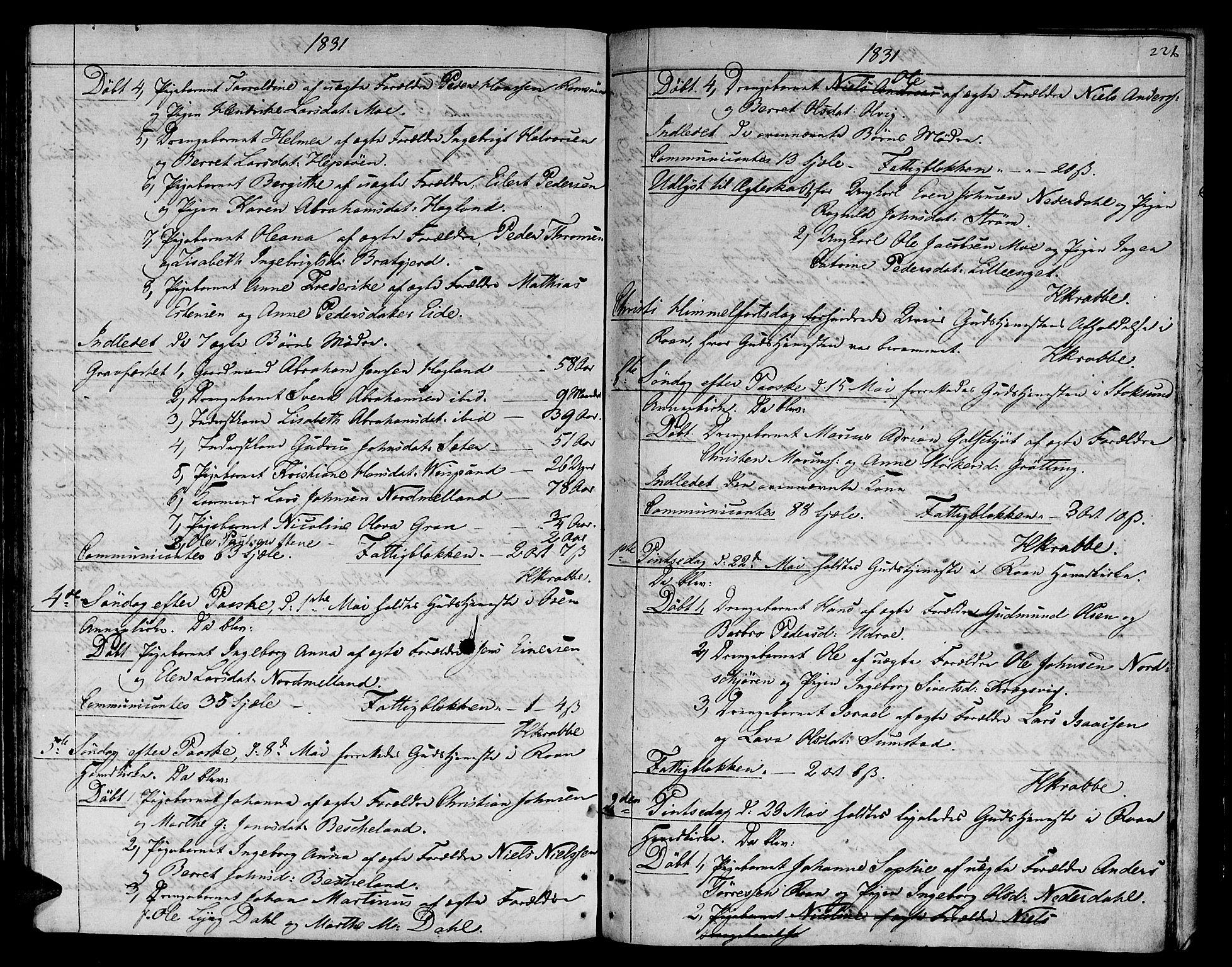 SAT, Ministerialprotokoller, klokkerbøker og fødselsregistre - Sør-Trøndelag, 657/L0701: Ministerialbok nr. 657A02, 1802-1831, s. 221c