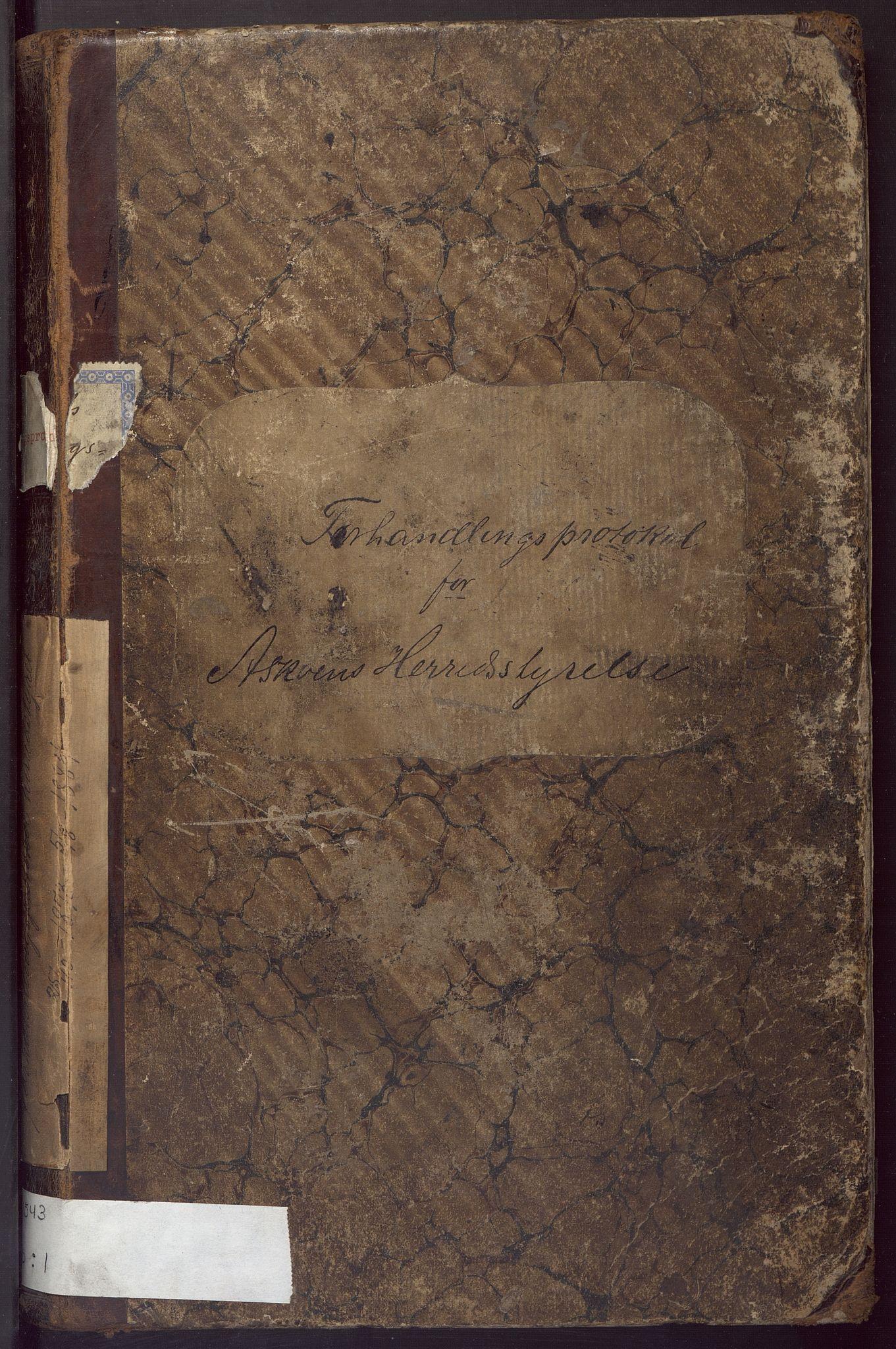 BBA, Laksevåg kommune. Formannskapet, Ab/L0001: Forhandlingsprotokoll, 1876-1884