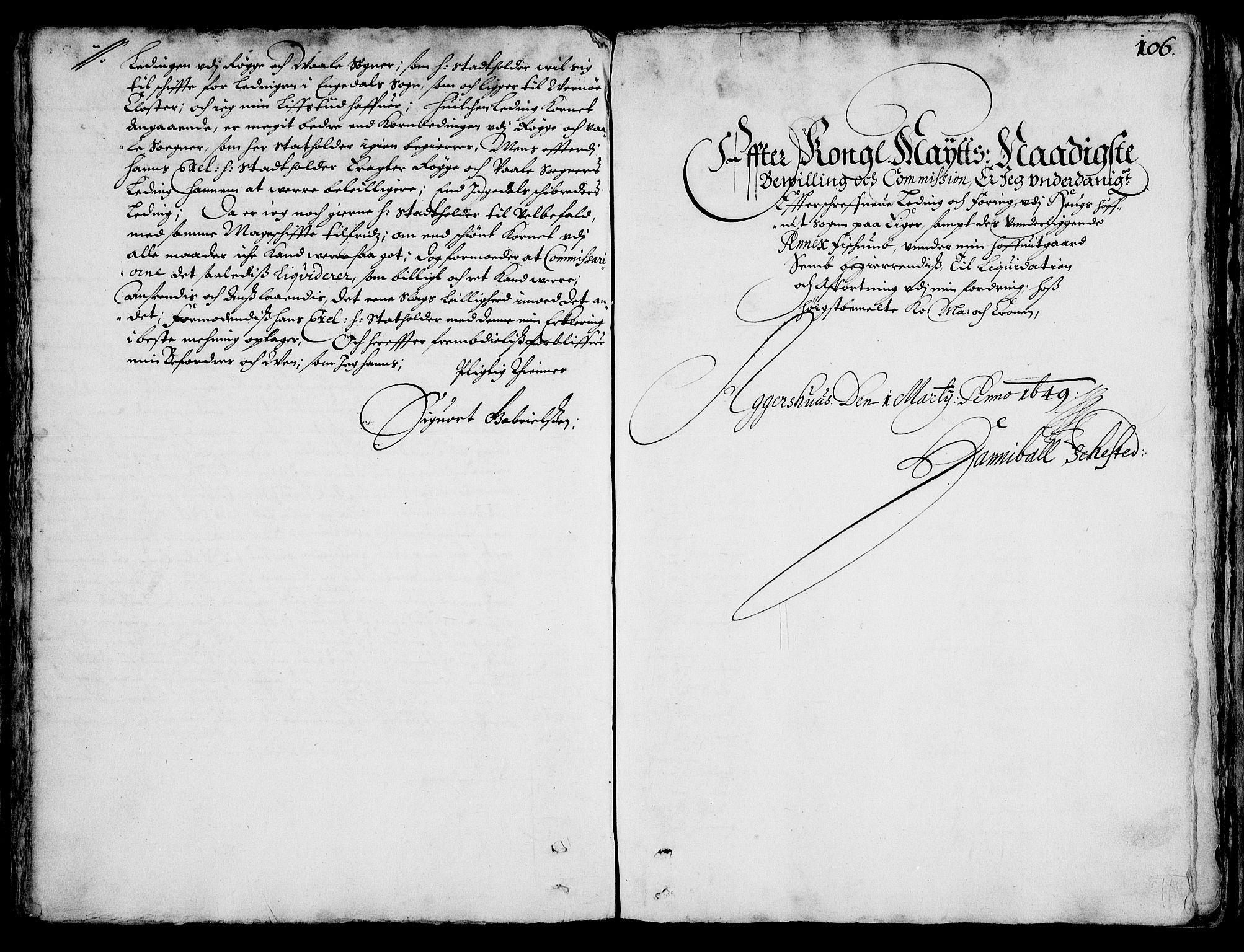 RA, Rentekammeret inntil 1814, Realistisk ordnet avdeling, On/L0001: Statens gods, 1651, s. 105b-106a