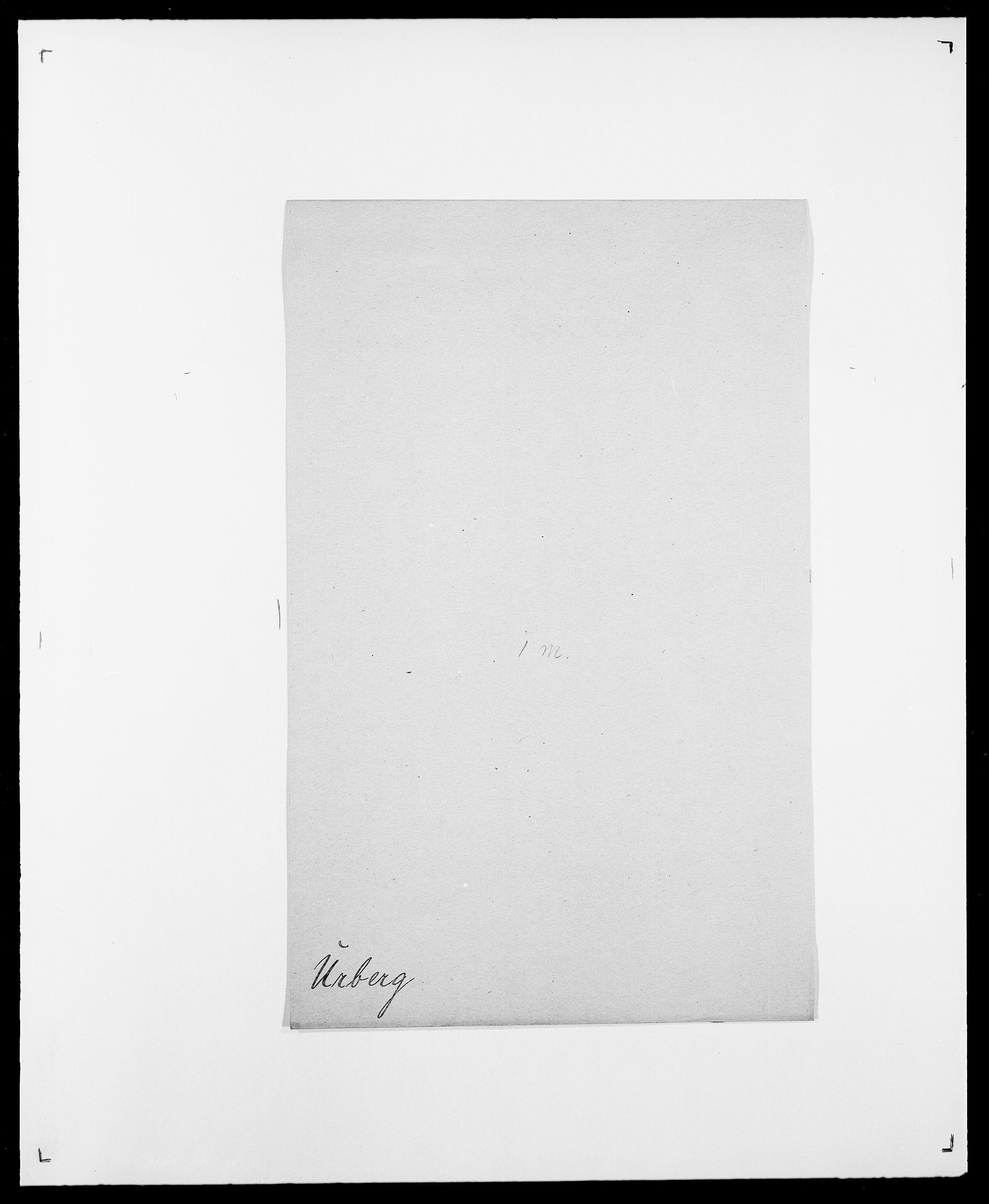 SAO, Delgobe, Charles Antoine - samling, D/Da/L0039: Thorsen - Urup, s. 743