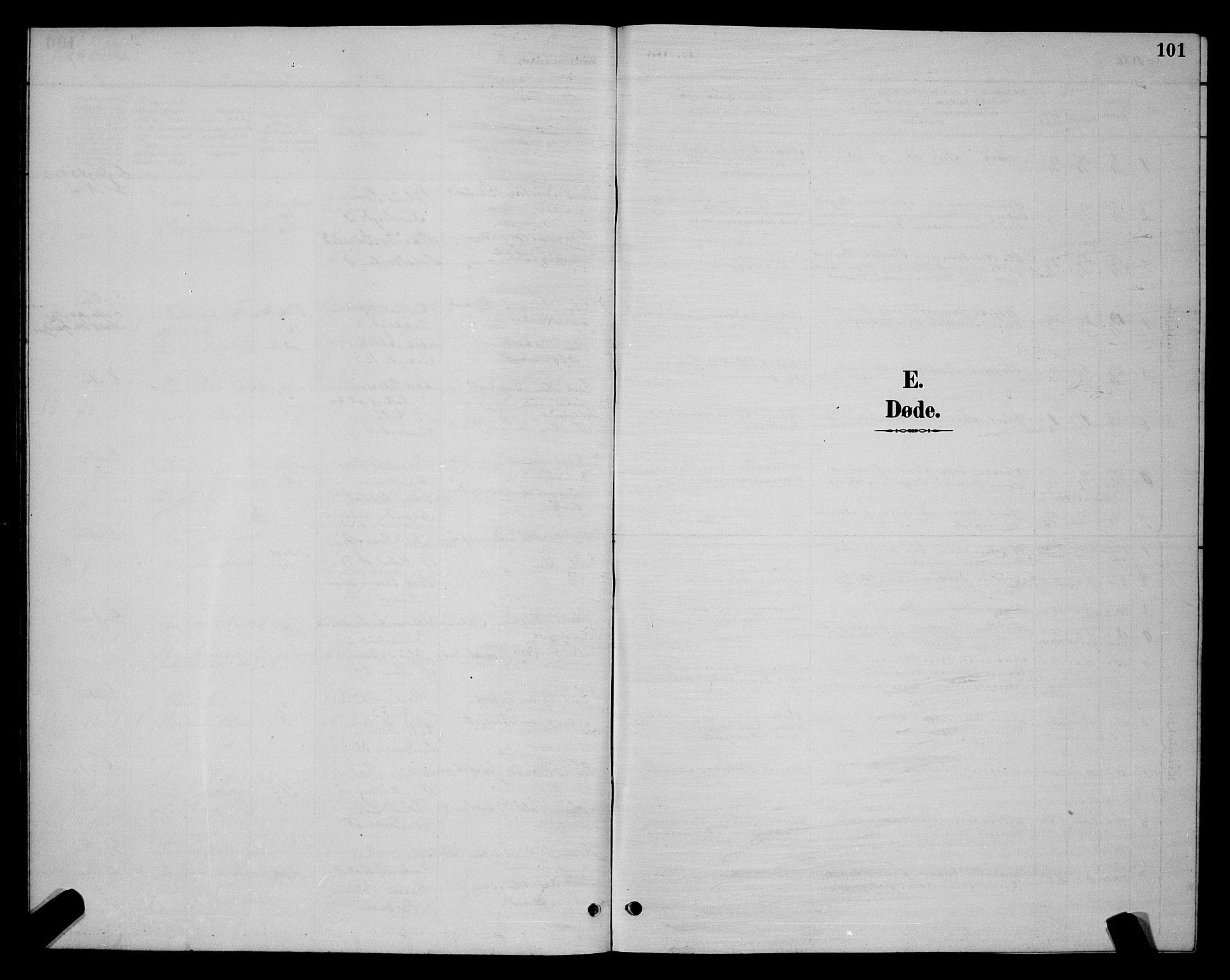 SAT, Ministerialprotokoller, klokkerbøker og fødselsregistre - Sør-Trøndelag, 604/L0223: Klokkerbok nr. 604C06, 1886-1897, s. 101