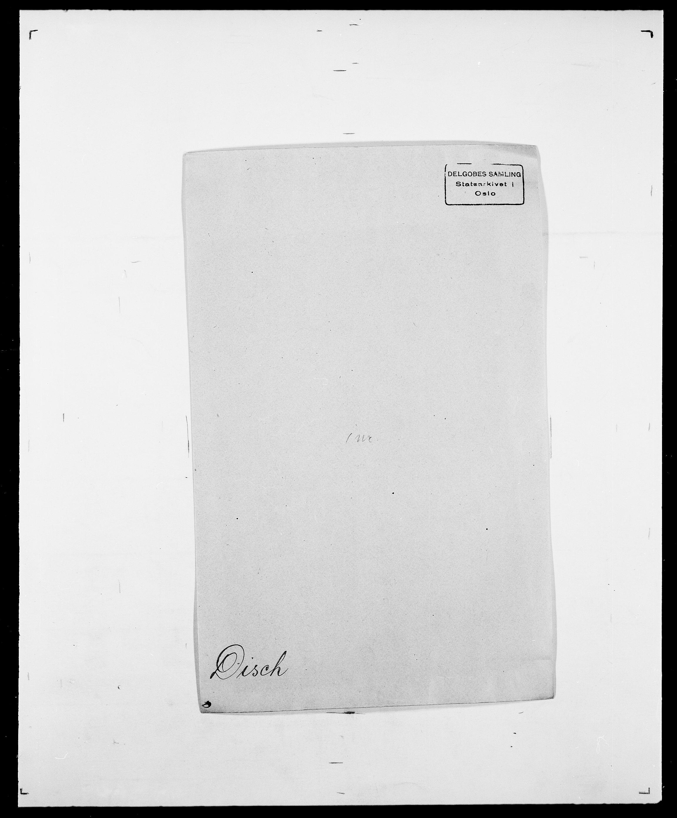 SAO, Delgobe, Charles Antoine - samling, D/Da/L0009: Dahl - v. Düren, s. 586