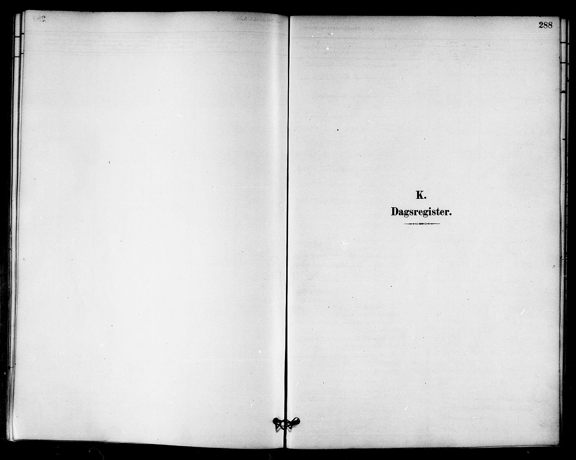 SAT, Ministerialprotokoller, klokkerbøker og fødselsregistre - Sør-Trøndelag, 655/L0680: Ministerialbok nr. 655A09, 1880-1894, s. 288