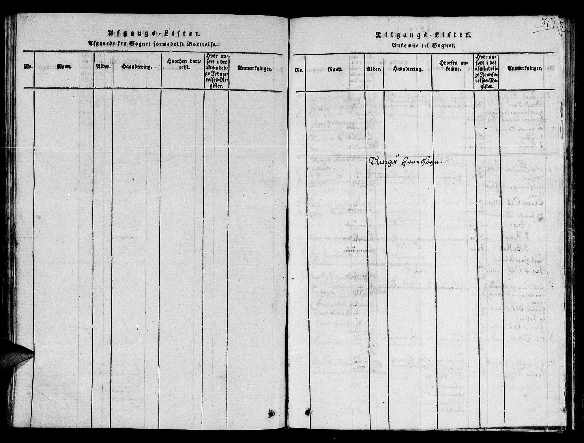 SAT, Ministerialprotokoller, klokkerbøker og fødselsregistre - Sør-Trøndelag, 678/L0895: Ministerialbok nr. 678A05 /1, 1816-1821, s. 301