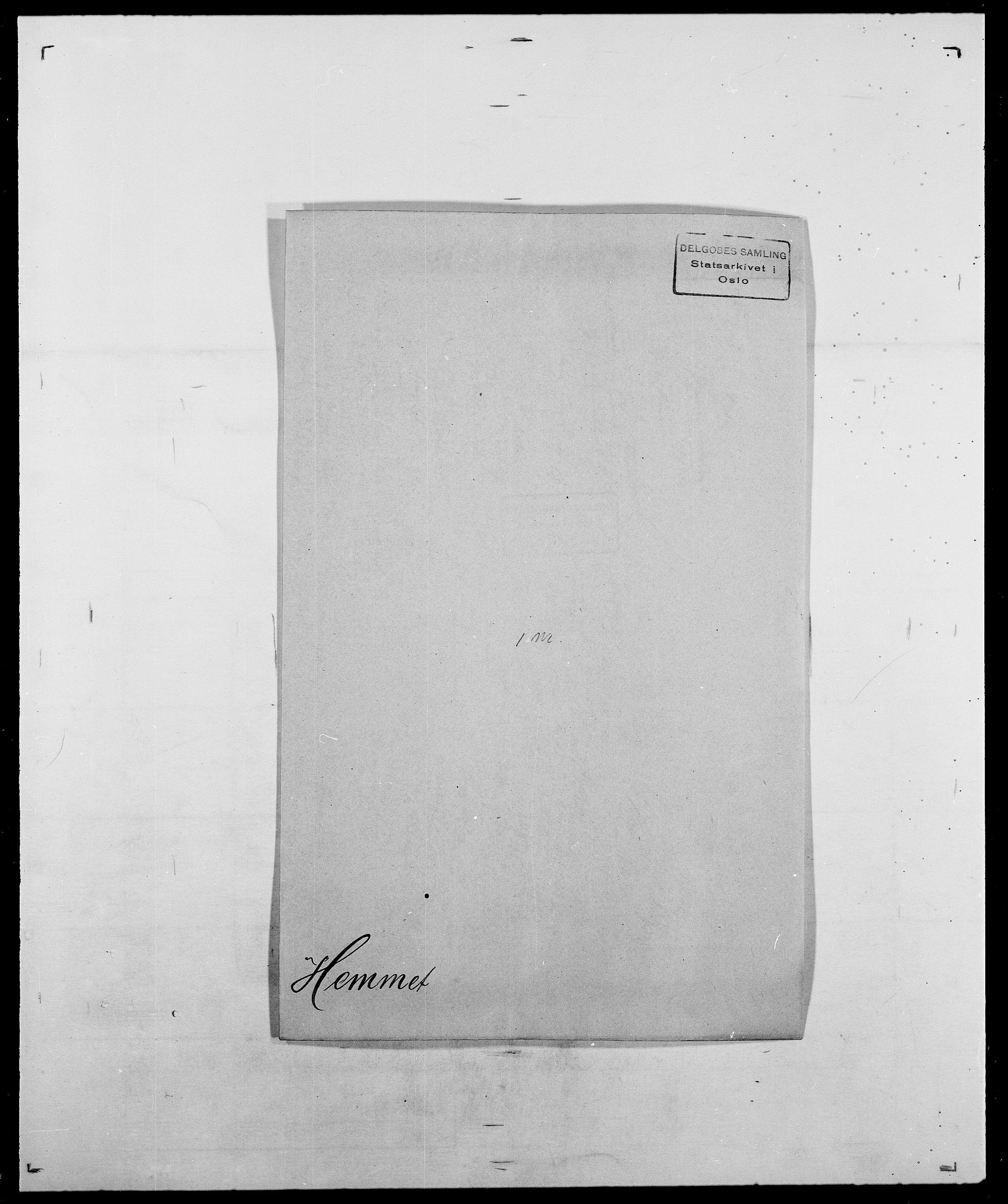 SAO, Delgobe, Charles Antoine - samling, D/Da/L0017: Helander - Hjørne, s. 156