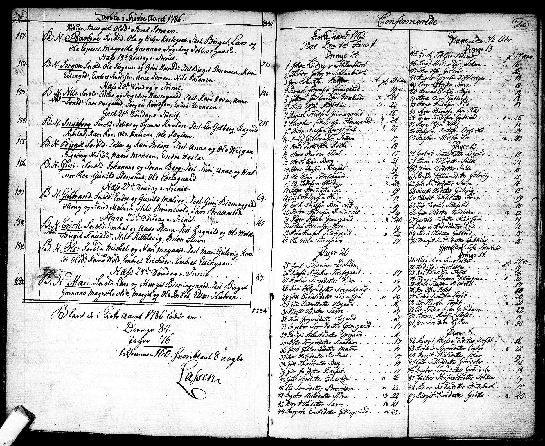 SAKO, Nes kirkebøker, F/Fa/L0004: Ministerialbok nr. 4, 1764-1786, s. 365-366