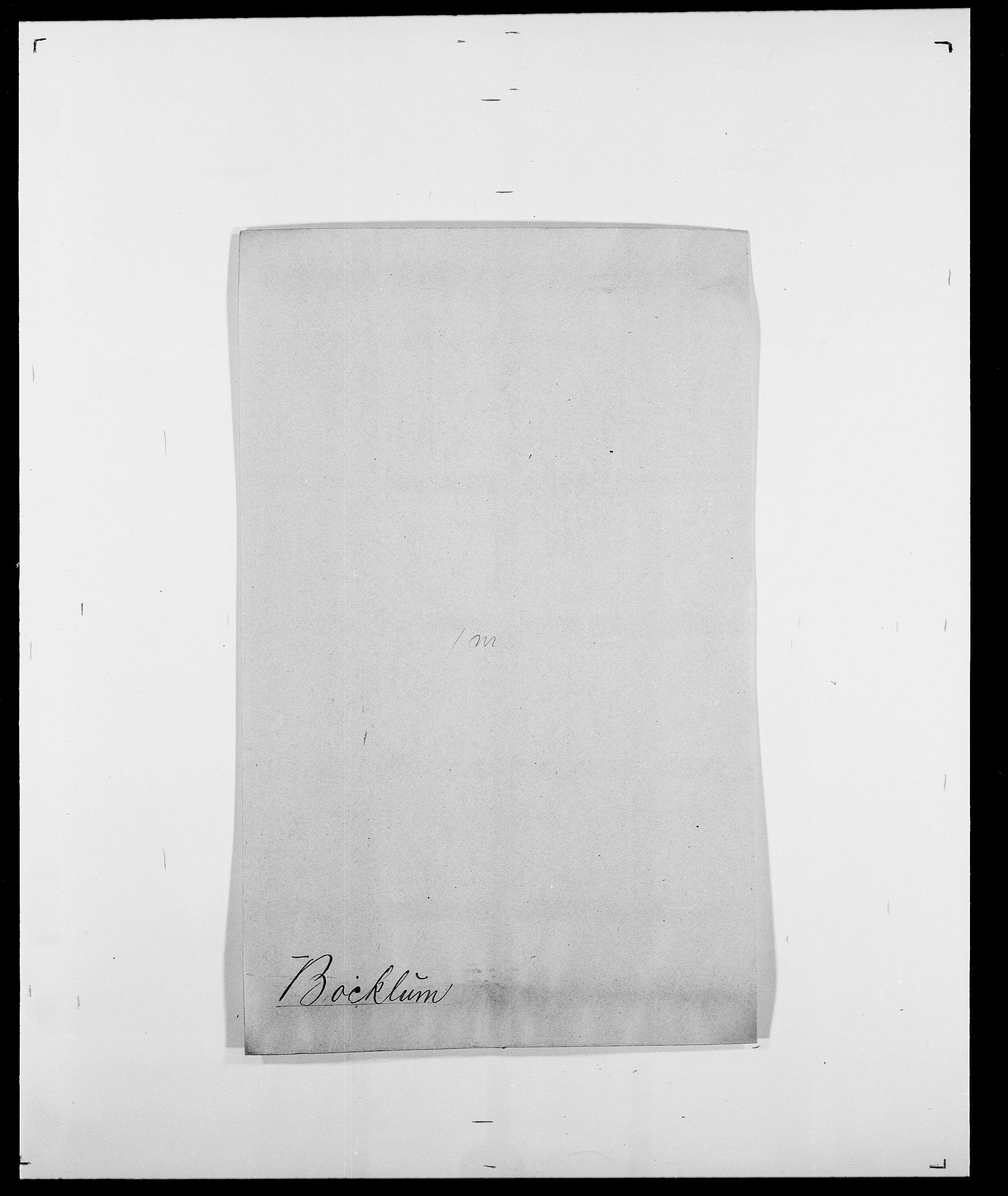 SAO, Delgobe, Charles Antoine - samling, D/Da/L0005: Boalth - Brahm, s. 12