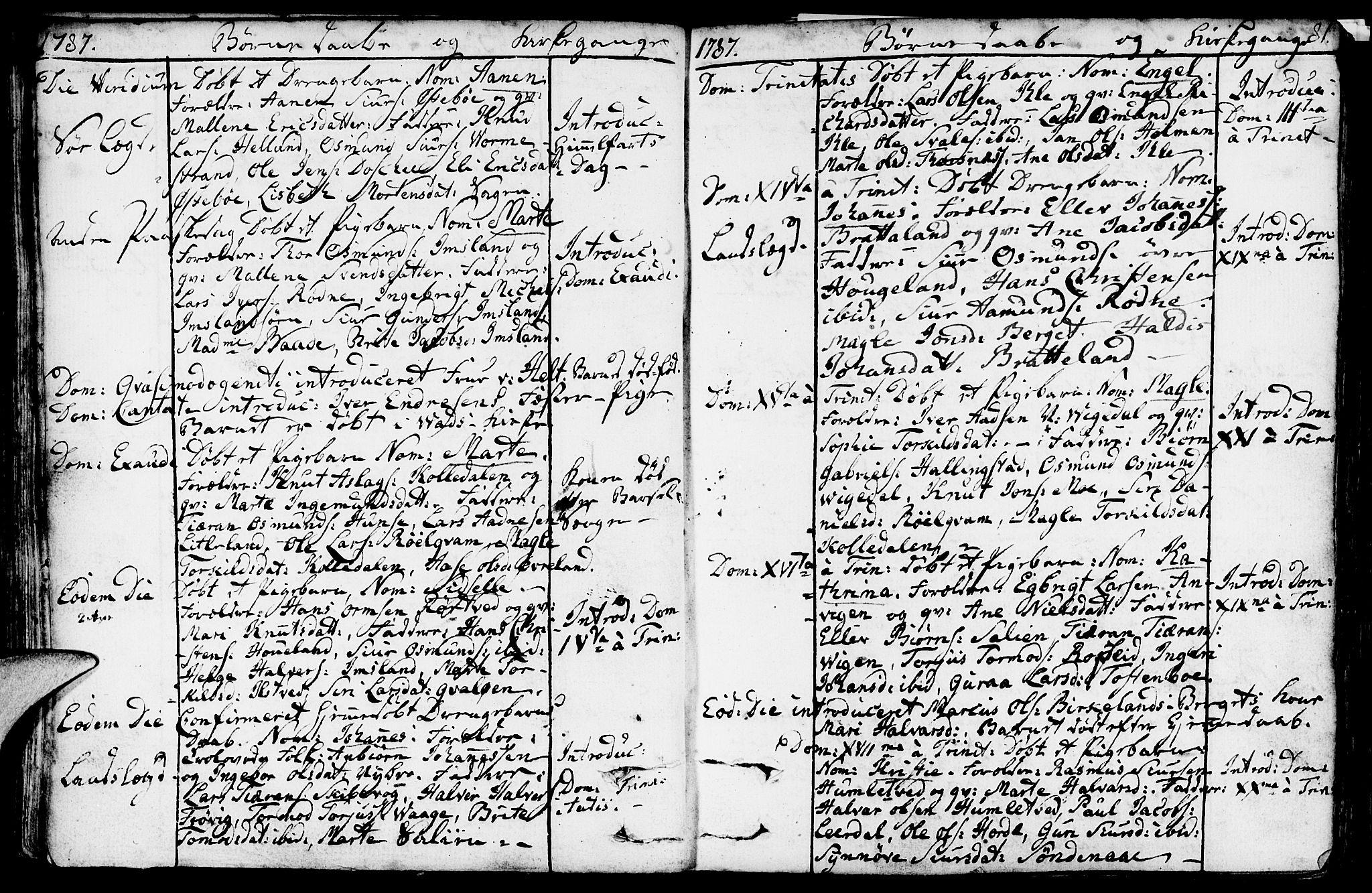 SAST, Vikedal sokneprestkontor, IV: Ministerialbok nr. A 2, 1779-1817, s. 81
