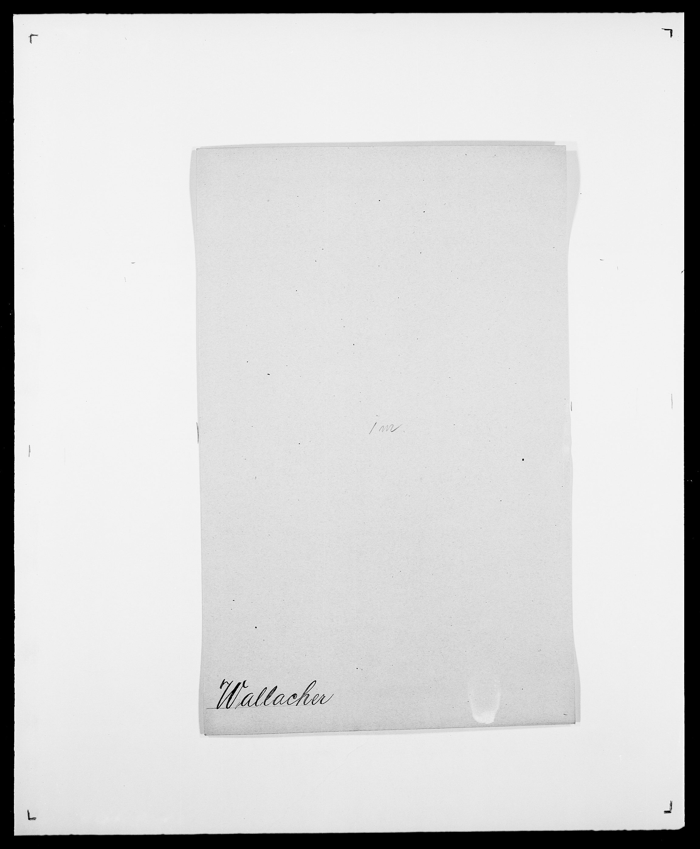SAO, Delgobe, Charles Antoine - samling, D/Da/L0040: Usgaard - Velund, s. 172