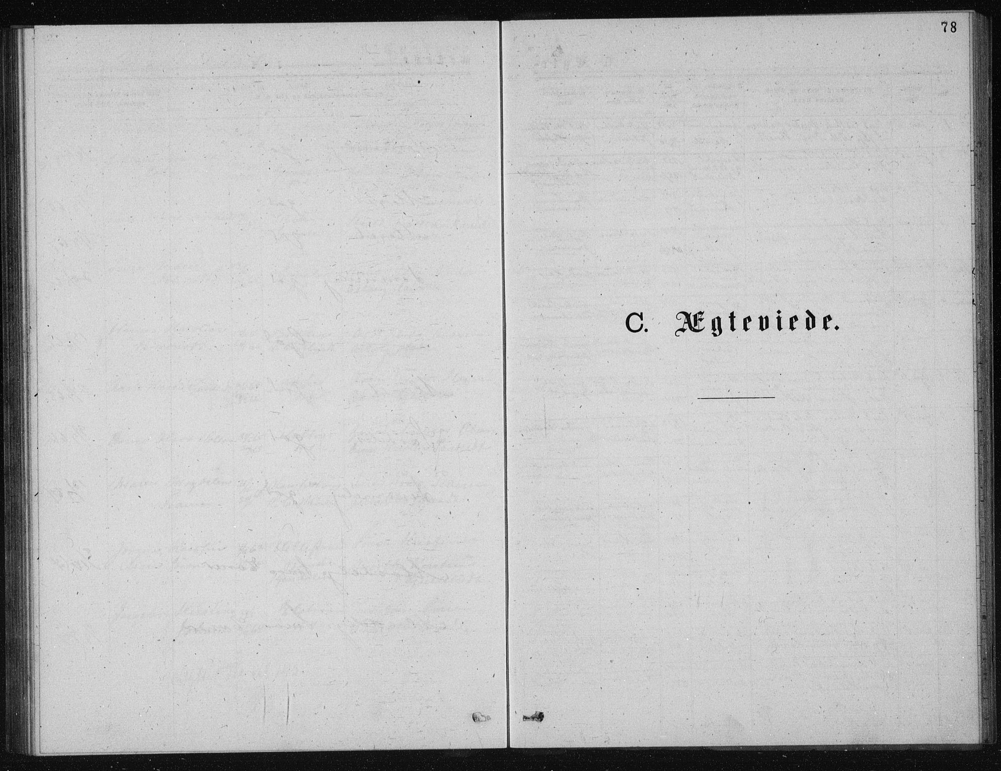 SAKO, Solum kirkebøker, G/Ga/L0005: Klokkerbok nr. I 5, 1877-1881, s. 78