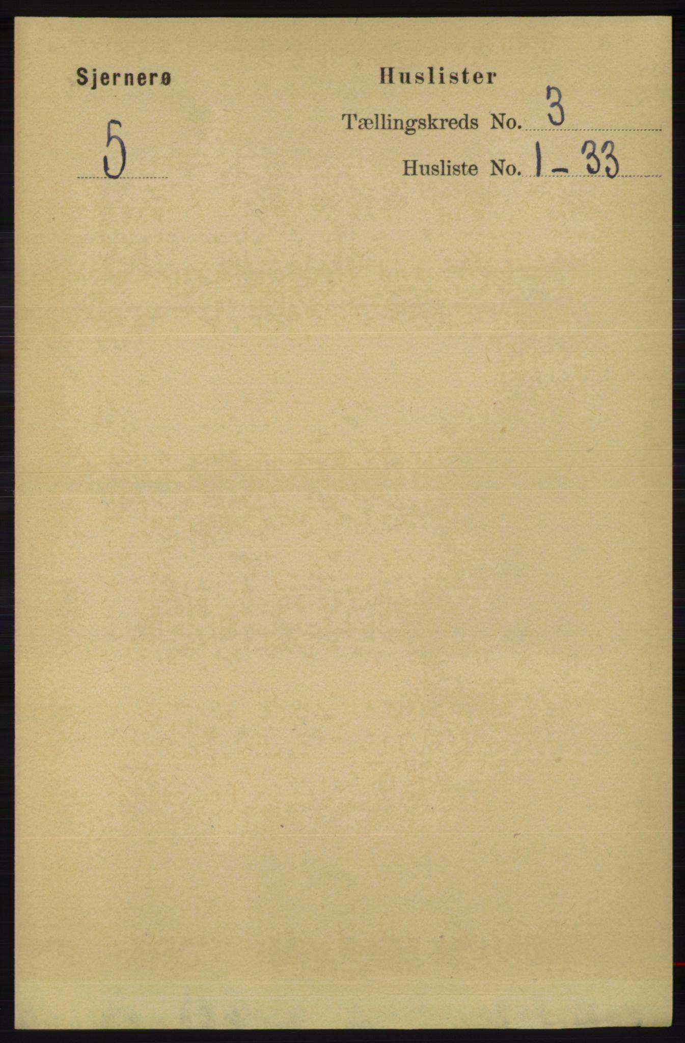 RA, Folketelling 1891 for 1140 Sjernarøy herred, 1891, s. 356