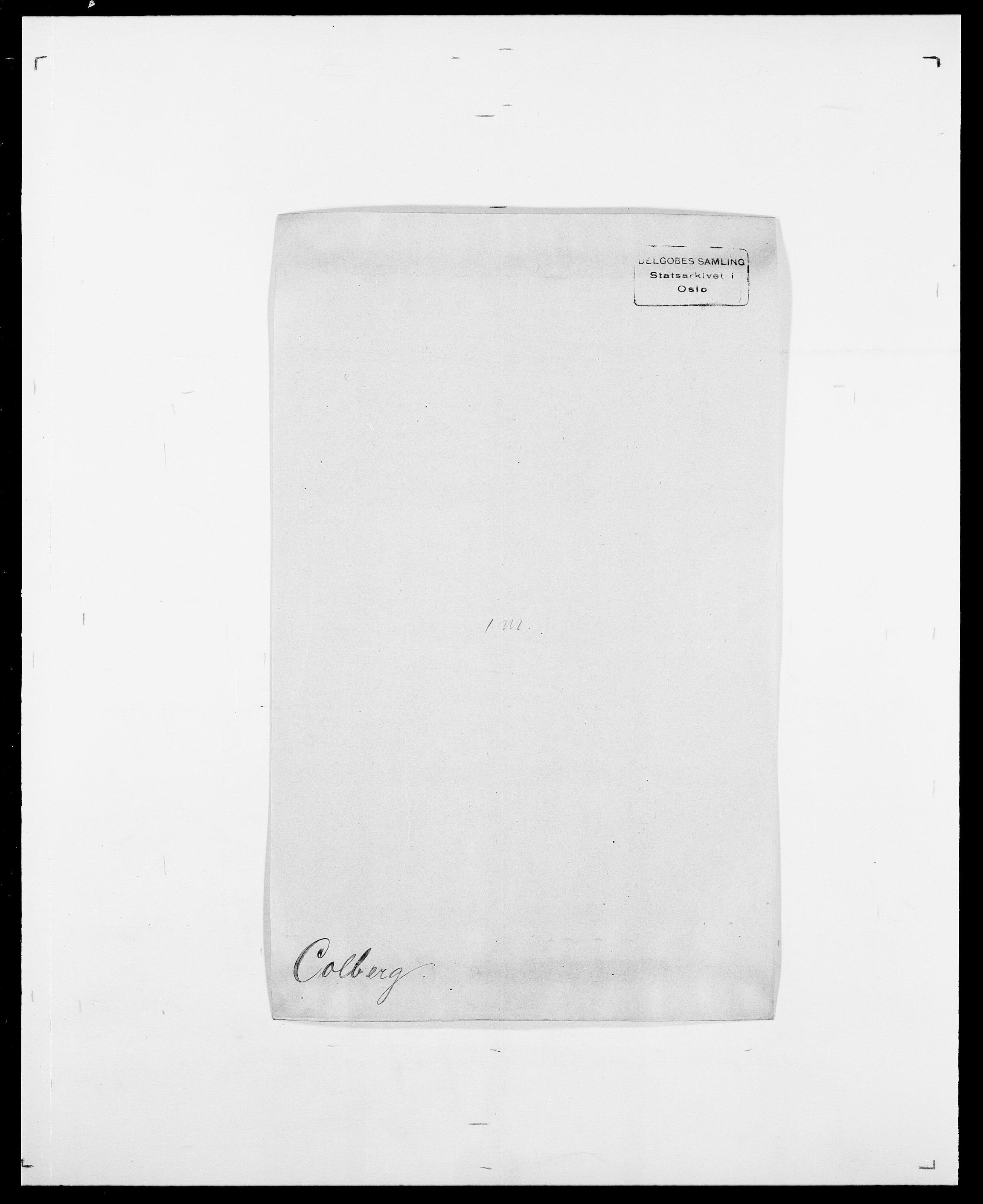 SAO, Delgobe, Charles Antoine - samling, D/Da/L0008: Capjon - Dagenbolt, s. 406