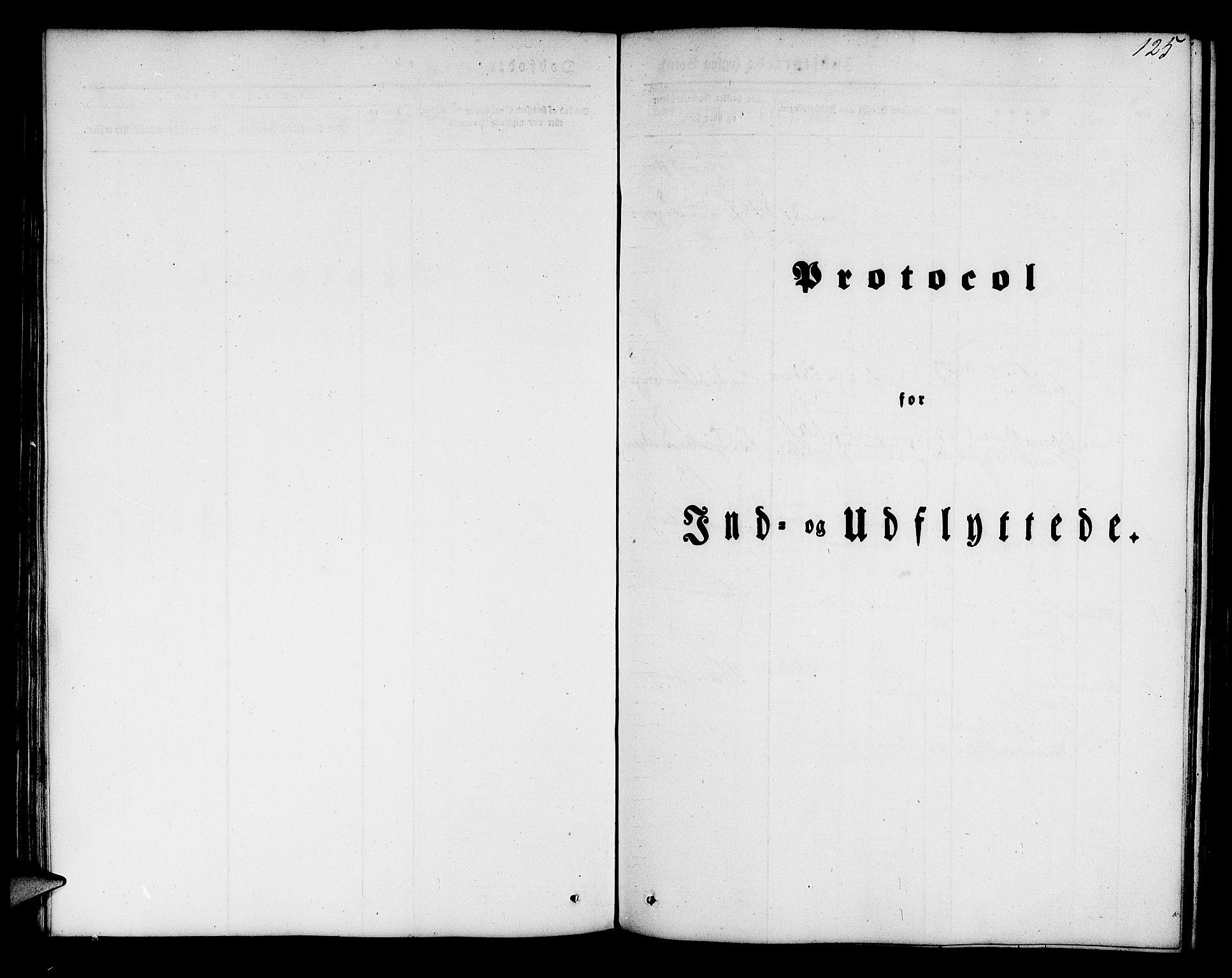 SAB, Mariakirken Sokneprestembete, H/Hab/L0002: Klokkerbok nr. A 2, 1846-1862, s. 125