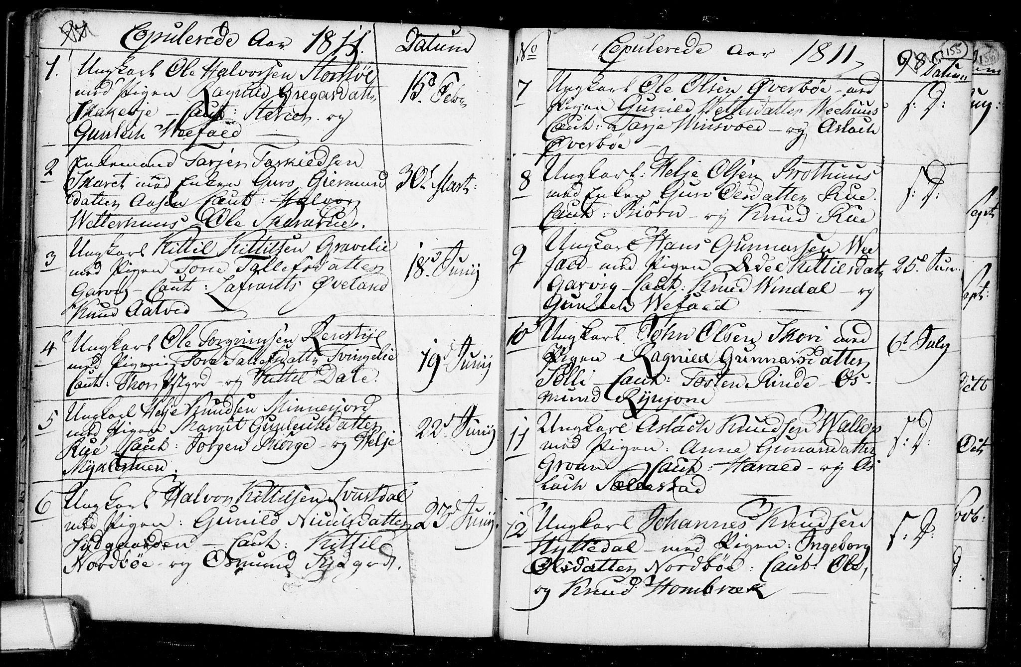 SAKO, Seljord kirkebøker, F/Fa/L0008: Ministerialbok nr. I 8, 1755-1814, s. 155