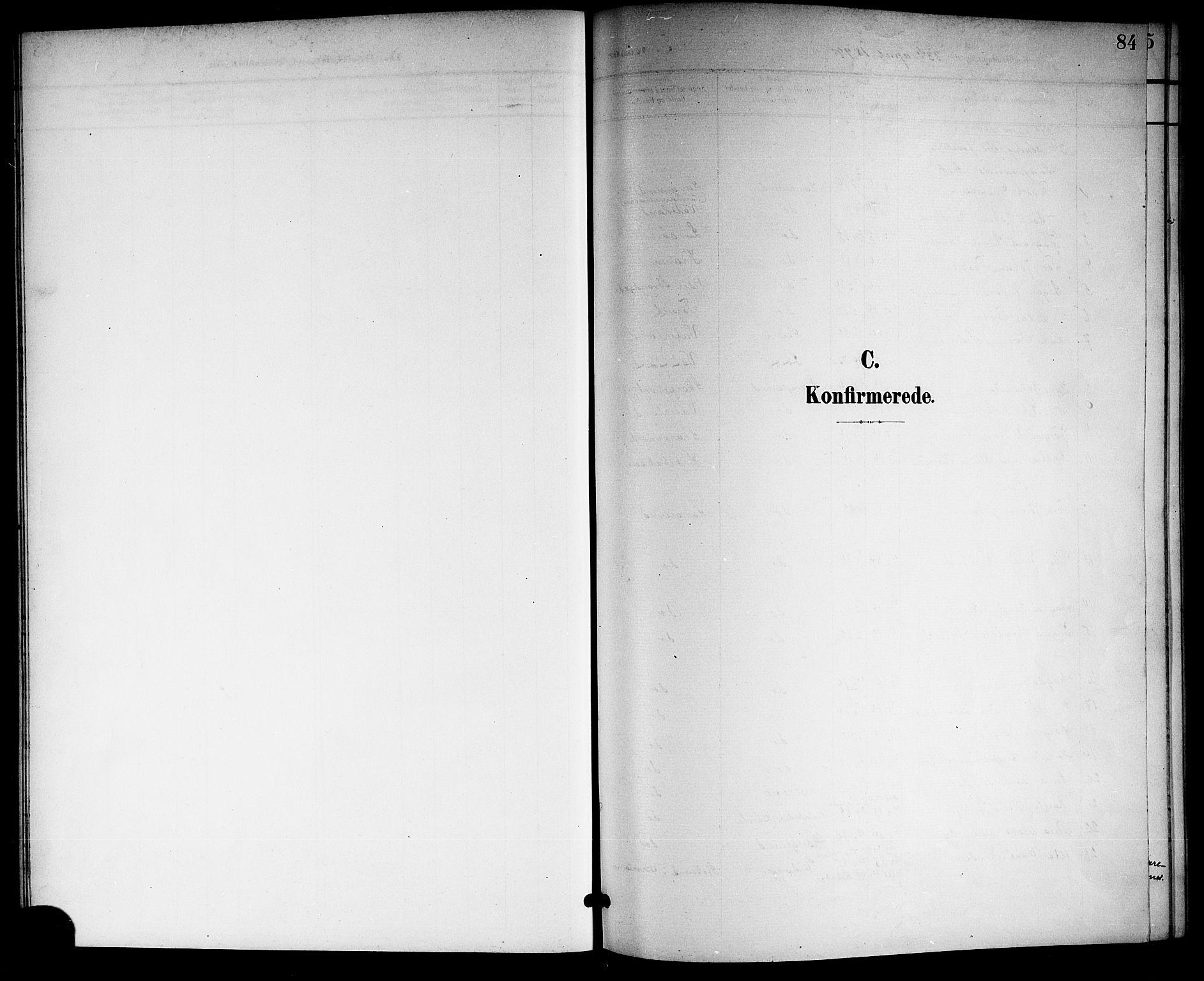 SAKO, Langesund kirkebøker, G/Ga/L0006: Klokkerbok nr. 6, 1899-1918, s. 84