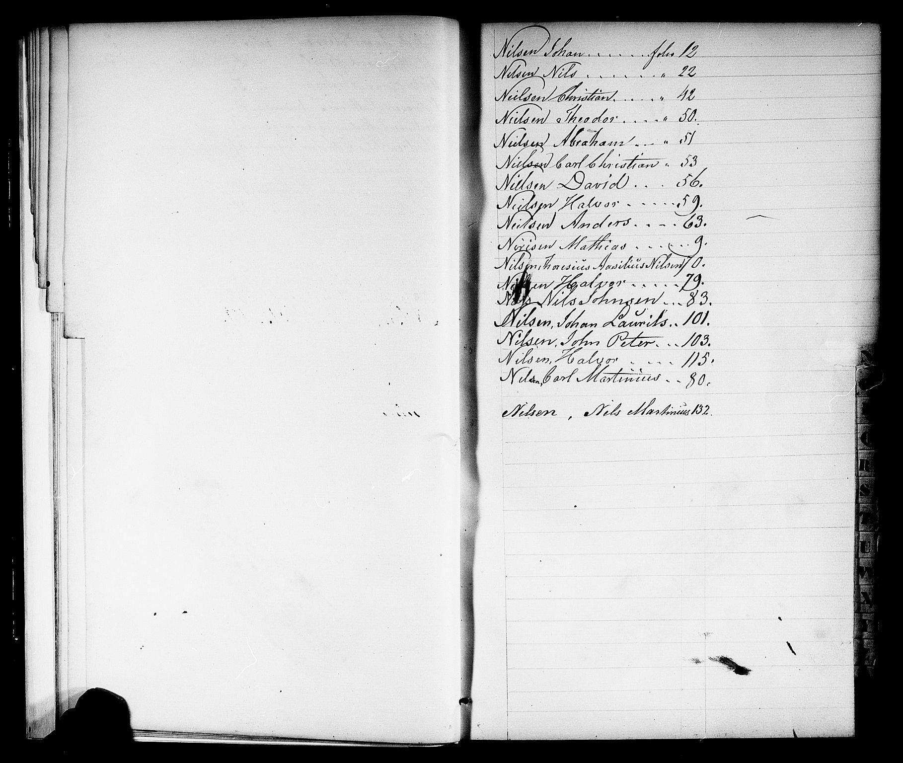 SAKO, Porsgrunn innrulleringskontor, F/Fb/L0001: Annotasjonsrulle, 1860-1868, s. 15