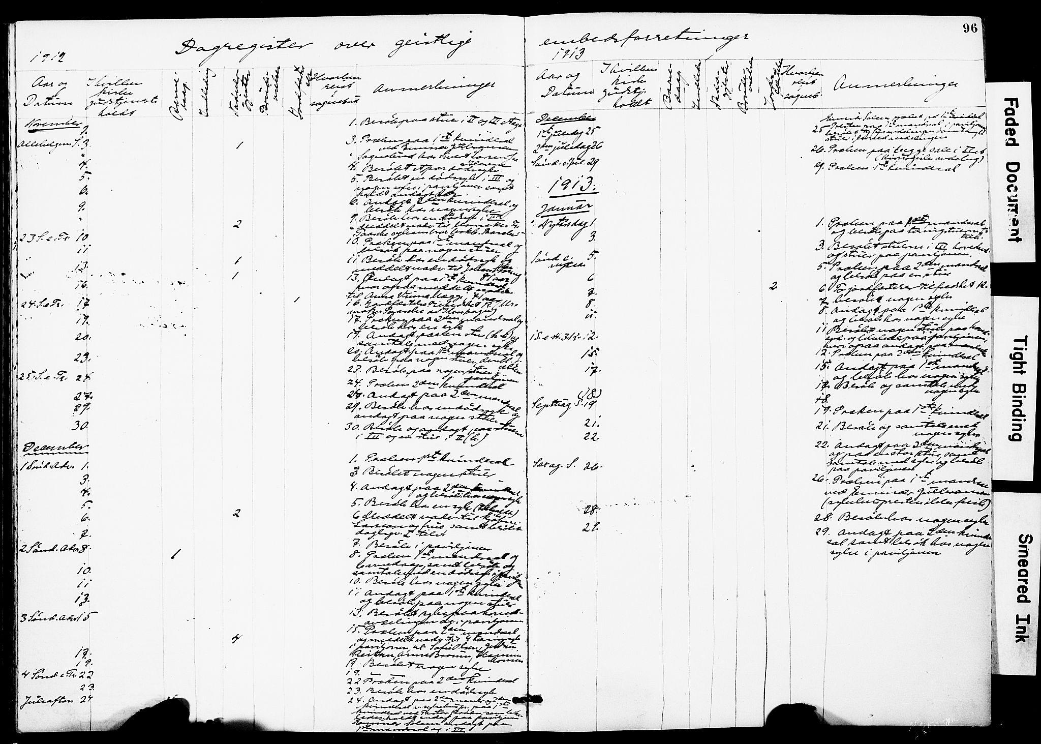 SAT, Ministerialprotokoller, klokkerbøker og fødselsregistre - Sør-Trøndelag, 628/L0483: Ministerialbok nr. 628A01, 1902-1920, s. 96