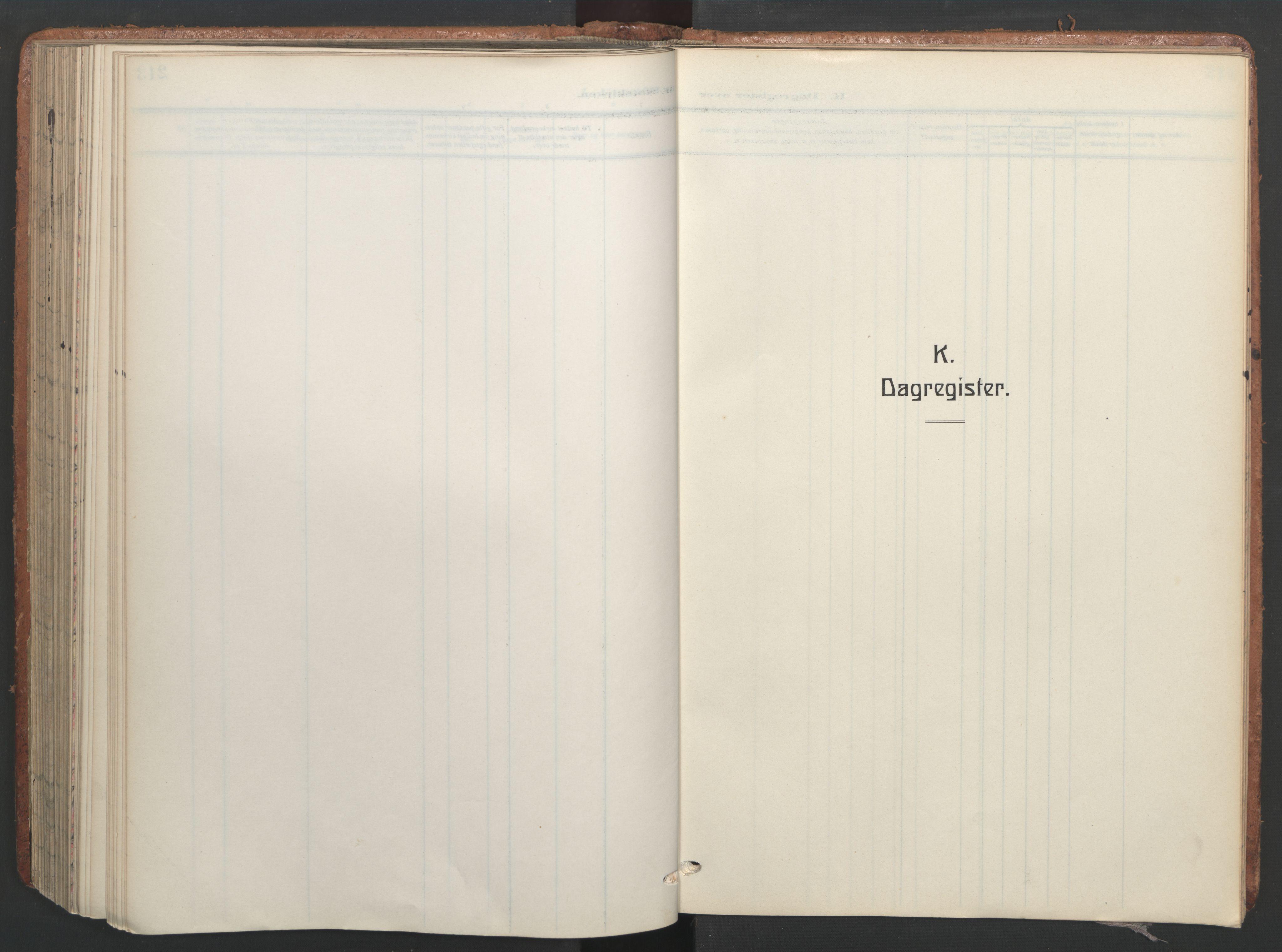 SAT, Ministerialprotokoller, klokkerbøker og fødselsregistre - Sør-Trøndelag, 656/L0694: Ministerialbok nr. 656A03, 1914-1931, s. 213