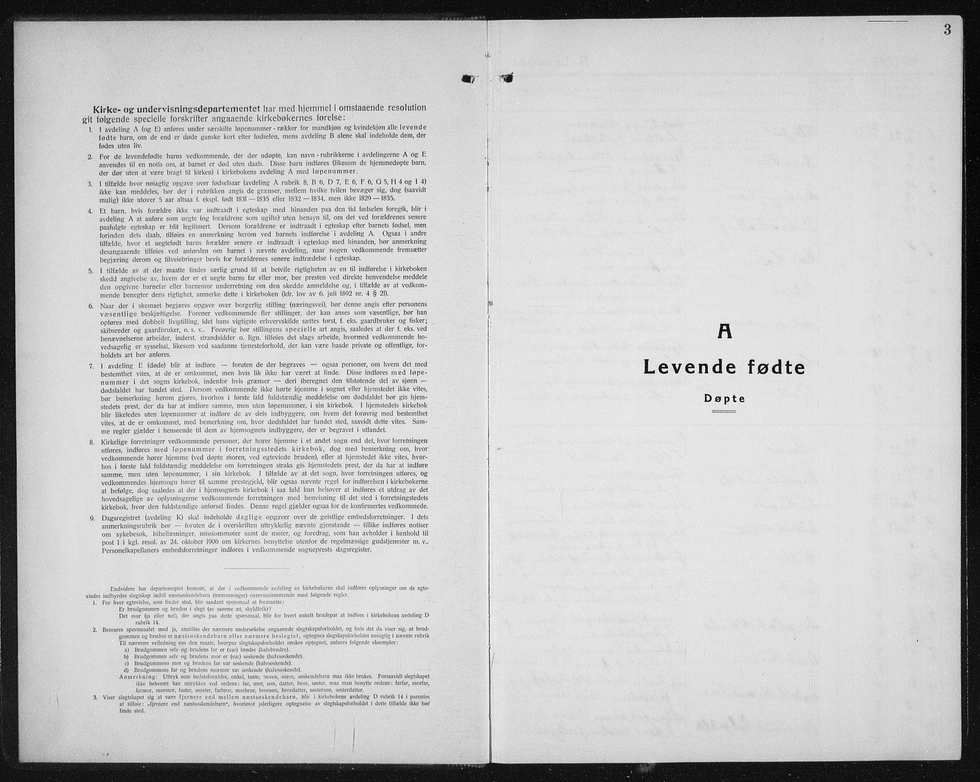 SAT, Ministerialprotokoller, klokkerbøker og fødselsregistre - Sør-Trøndelag, 604/L0227: Klokkerbok nr. 604C10, 1923-1942, s. 3