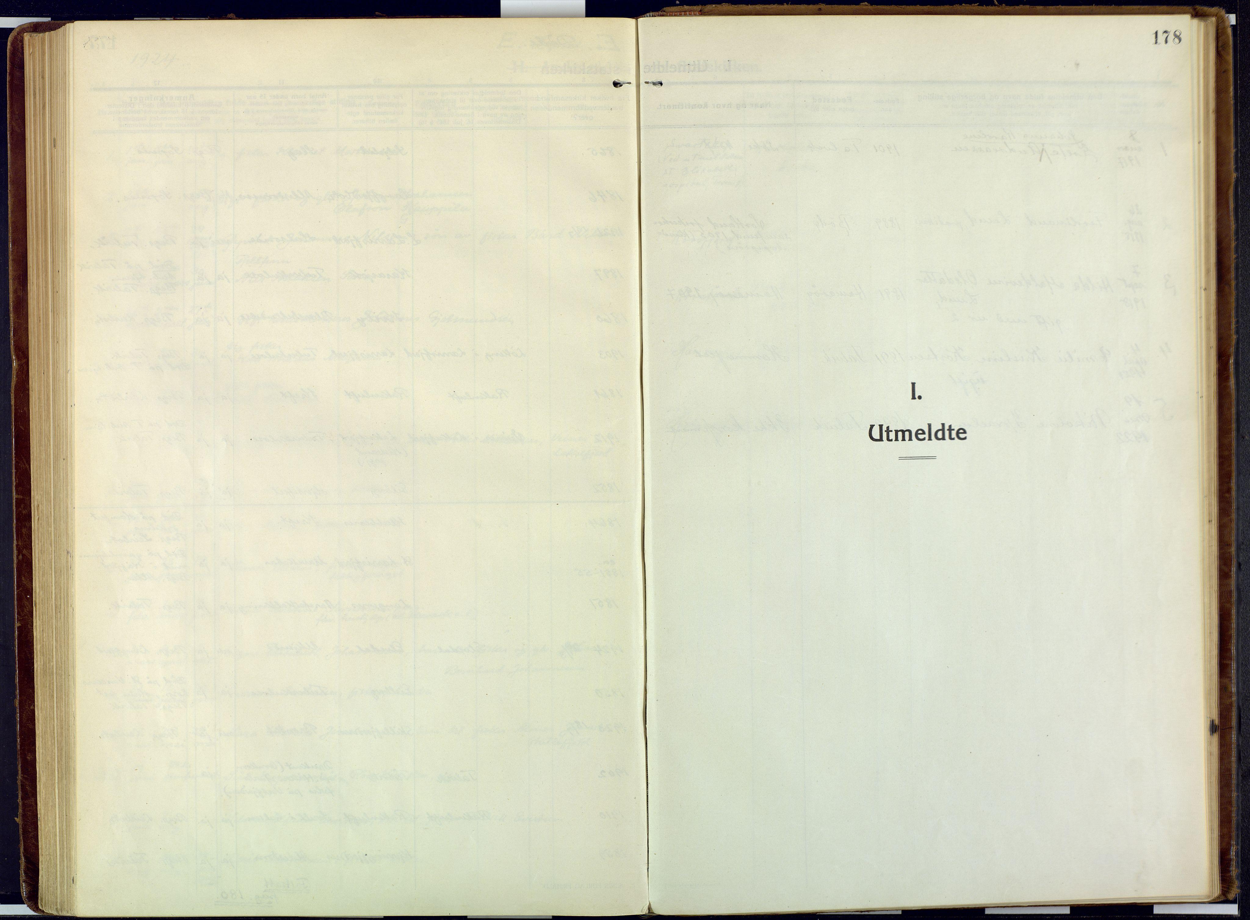 SATØ, Talvik sokneprestkontor, H/Ha/L0018kirke: Ministerialbok nr. 18, 1915-1924, s. 178