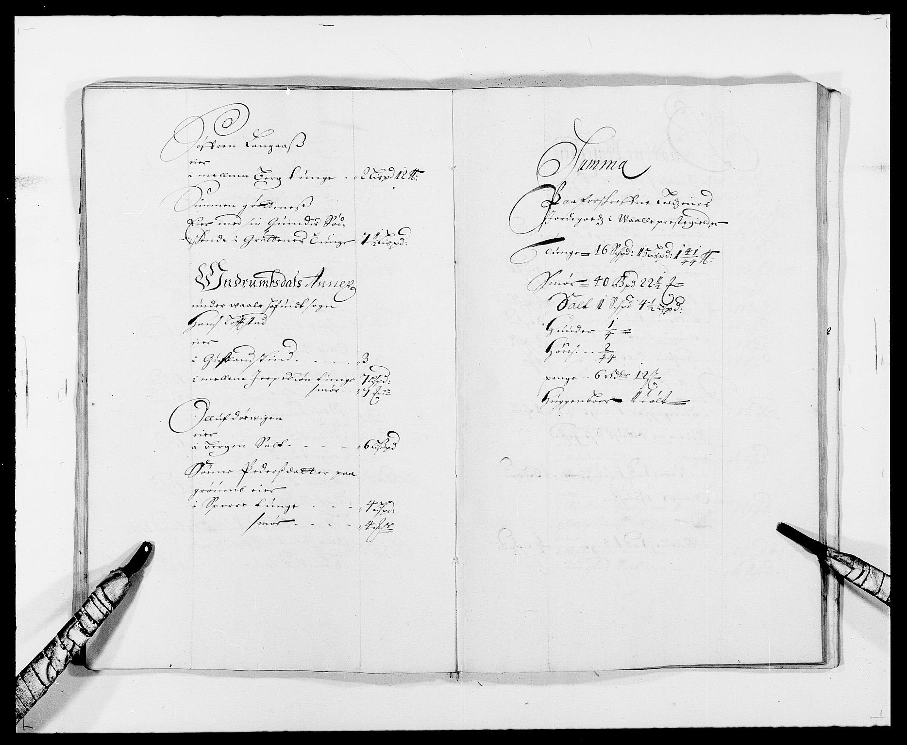 RA, Rentekammeret inntil 1814, Reviderte regnskaper, Fogderegnskap, R32/L1857: Fogderegnskap Jarlsberg grevskap, 1686-1690, s. 213