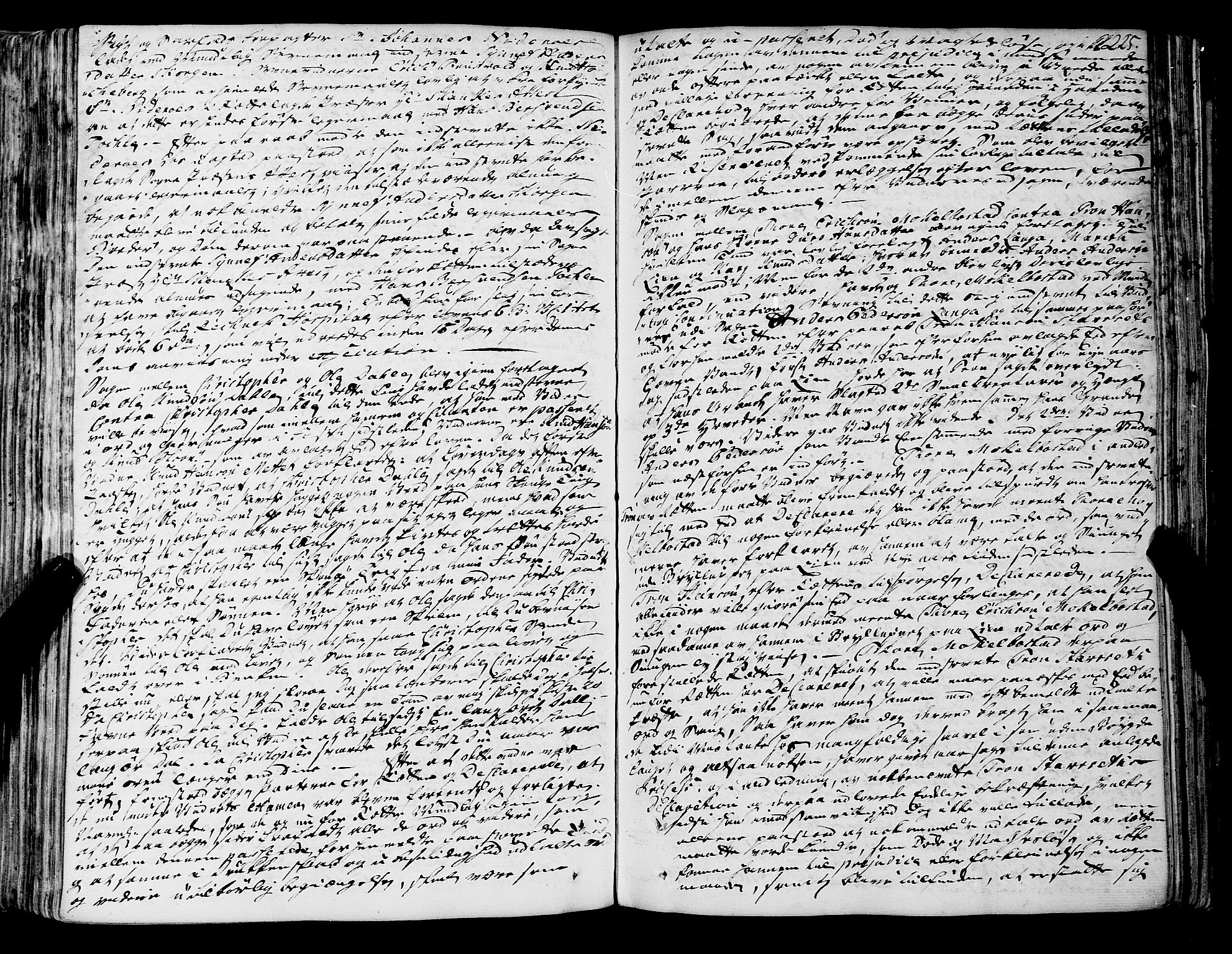 SAT, Romsdal sorenskriveri, 1/1A/L0012: Tingbok, 1740-1749, s. 225b-226a