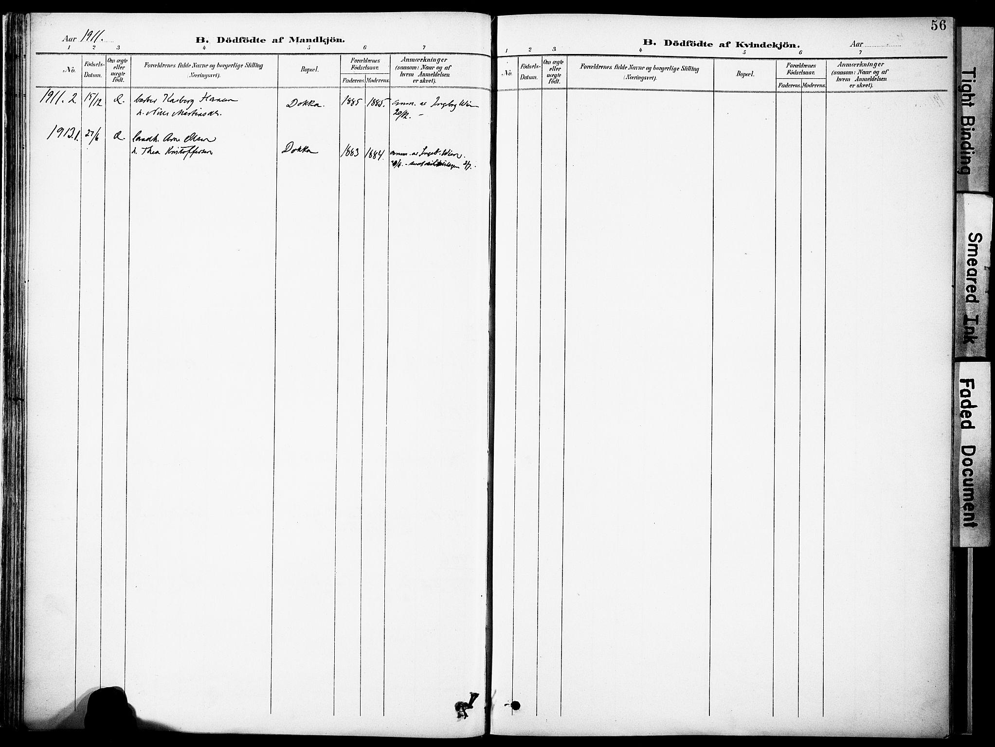 SAH, Nordre Land prestekontor, Ministerialbok nr. 6, 1897-1914, s. 56
