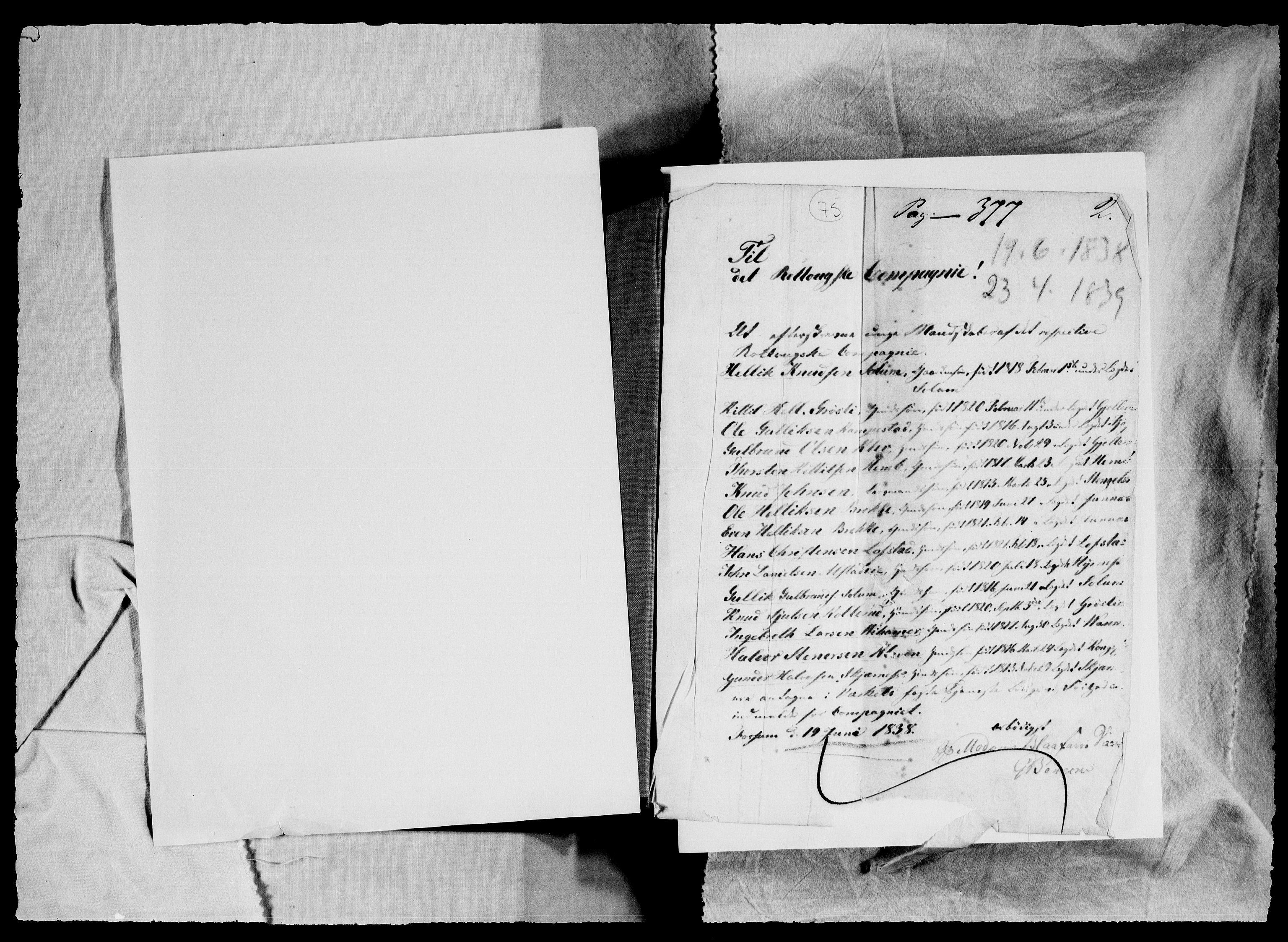 RA, Modums Blaafarveværk, G/Gb/L0075, 1835-1837, s. 2