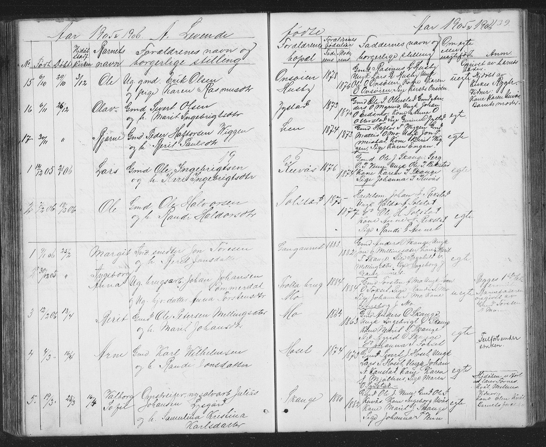 SAT, Ministerialprotokoller, klokkerbøker og fødselsregistre - Sør-Trøndelag, 667/L0798: Klokkerbok nr. 667C03, 1867-1929, s. 139