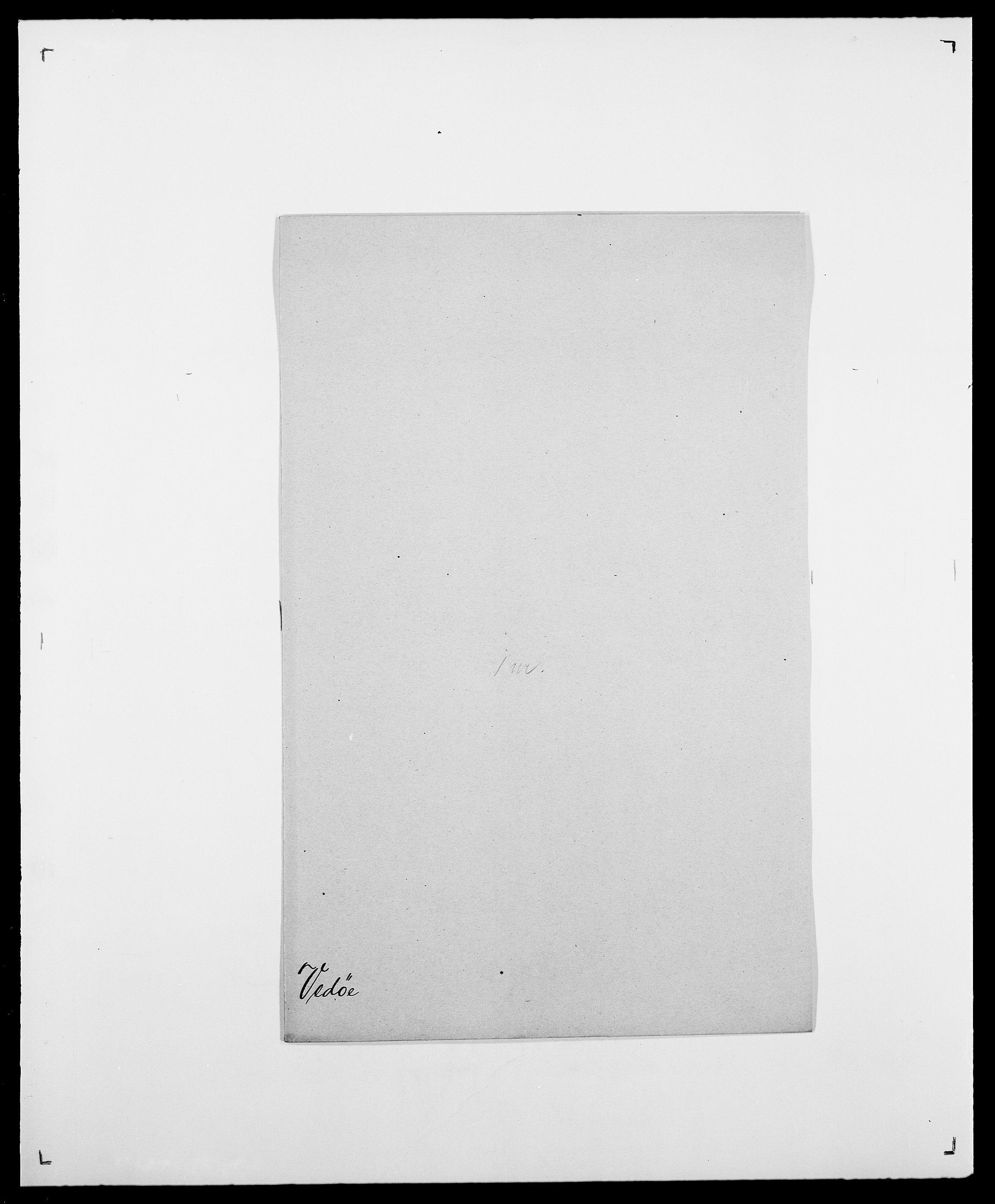 SAO, Delgobe, Charles Antoine - samling, D/Da/L0040: Usgaard - Velund, s. 476