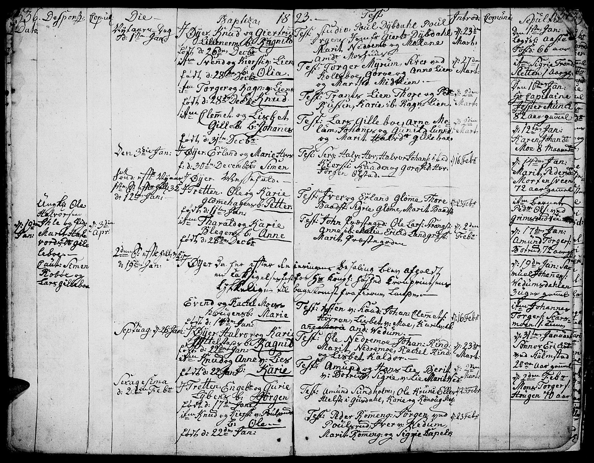SAH, Øyer prestekontor, Ministerialbok nr. 3, 1784-1824, s. 536-537