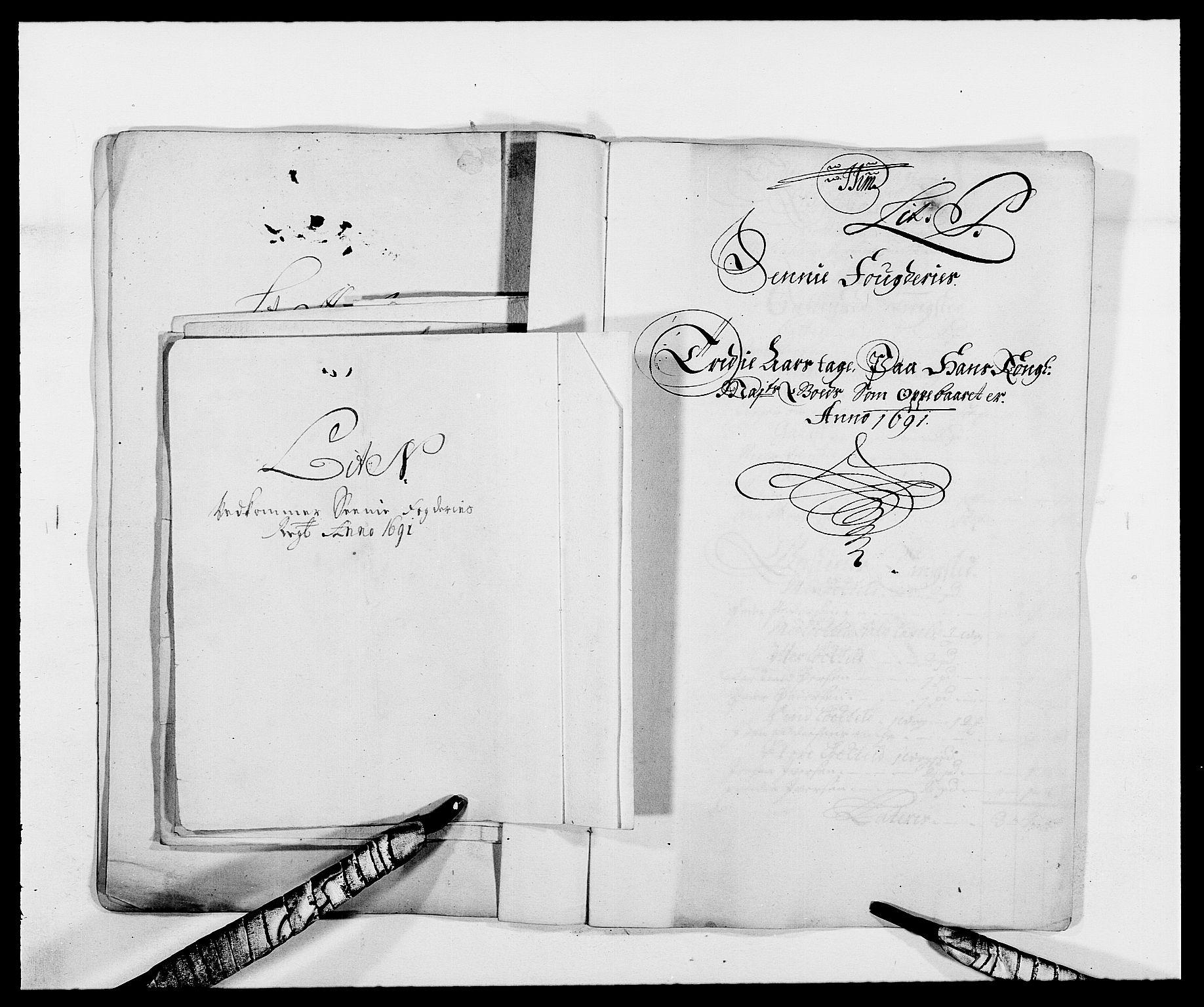 RA, Rentekammeret inntil 1814, Reviderte regnskaper, Fogderegnskap, R68/L4752: Fogderegnskap Senja og Troms, 1691-1693, s. 99