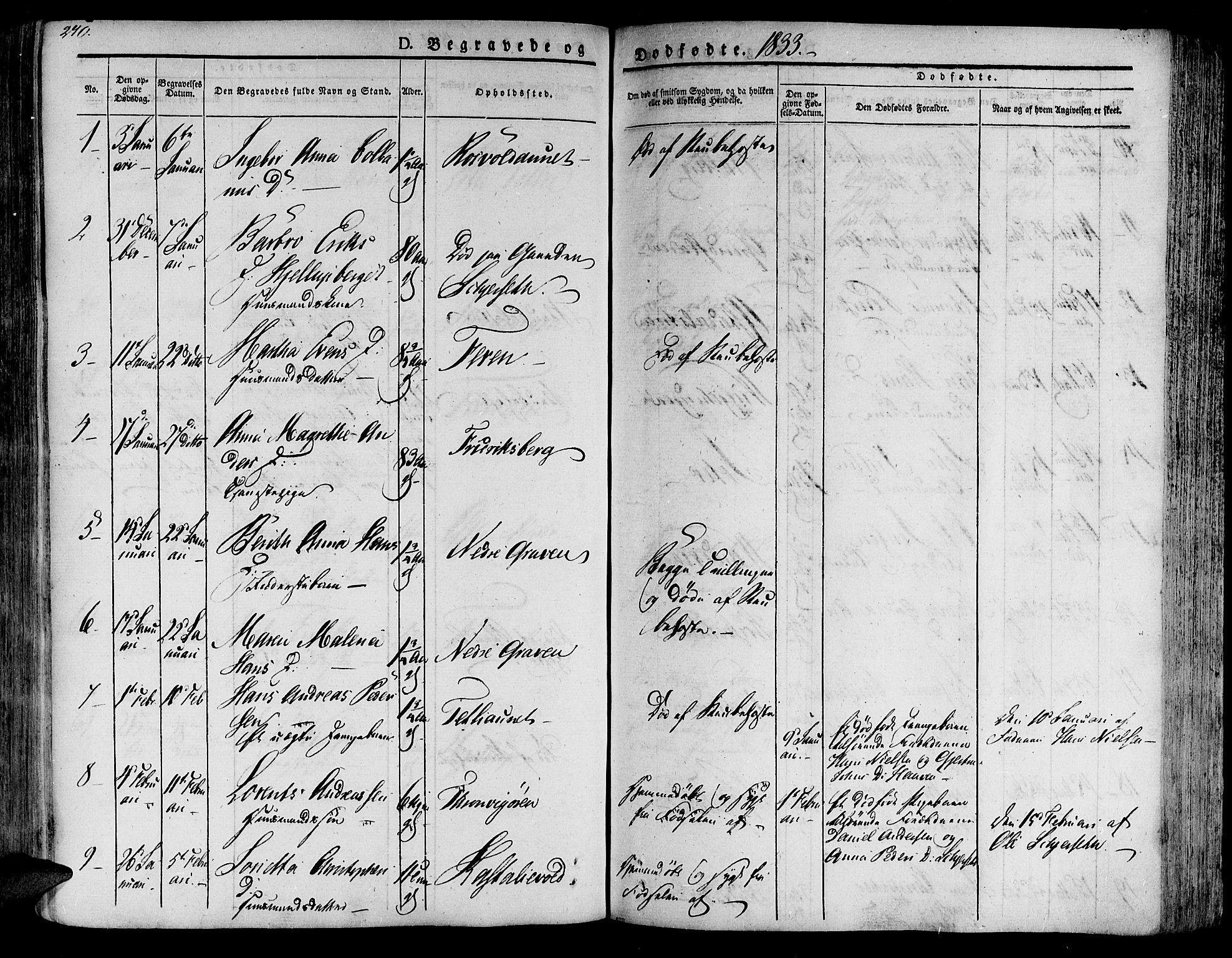 SAT, Ministerialprotokoller, klokkerbøker og fødselsregistre - Nord-Trøndelag, 701/L0006: Ministerialbok nr. 701A06, 1825-1841, s. 271