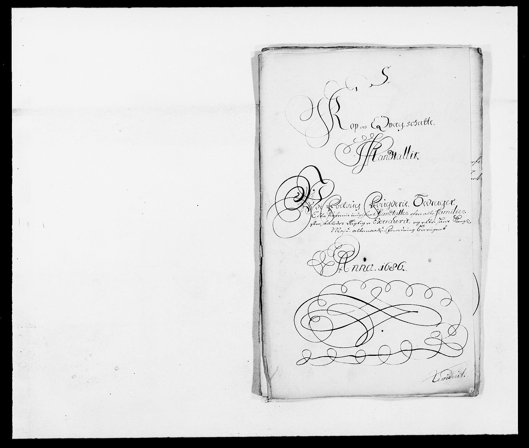 RA, Rentekammeret inntil 1814, Reviderte regnskaper, Fogderegnskap, R09/L0433: Fogderegnskap Follo, 1685-1686, s. 443