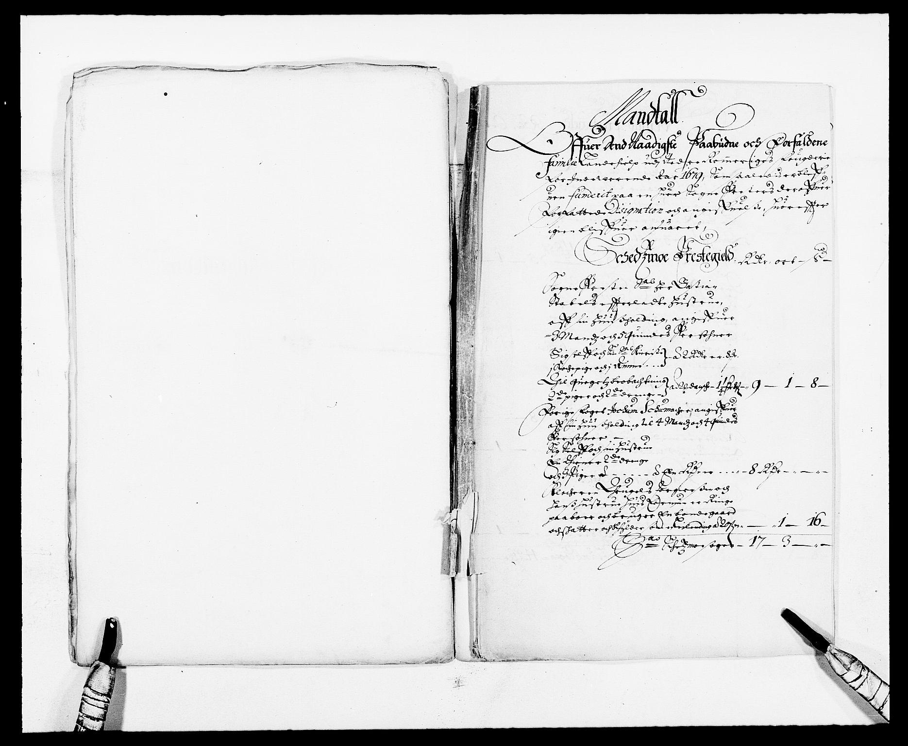 RA, Rentekammeret inntil 1814, Reviderte regnskaper, Fogderegnskap, R11/L0568: Fogderegnskap Nedre Romerike, 1679, s. 254