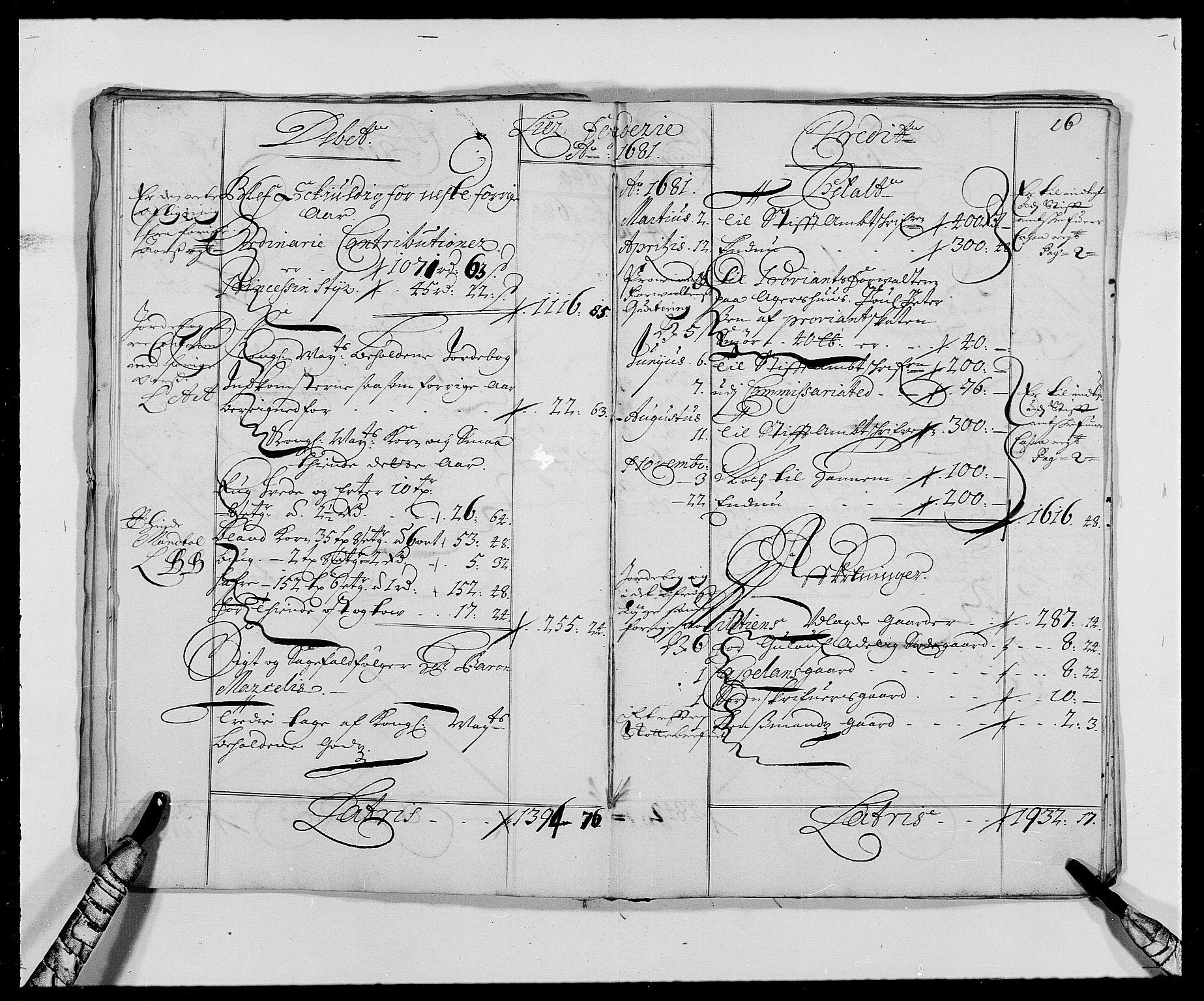 RA, Rentekammeret inntil 1814, Reviderte regnskaper, Fogderegnskap, R27/L1686: Fogderegnskap Lier, 1678-1686, s. 19
