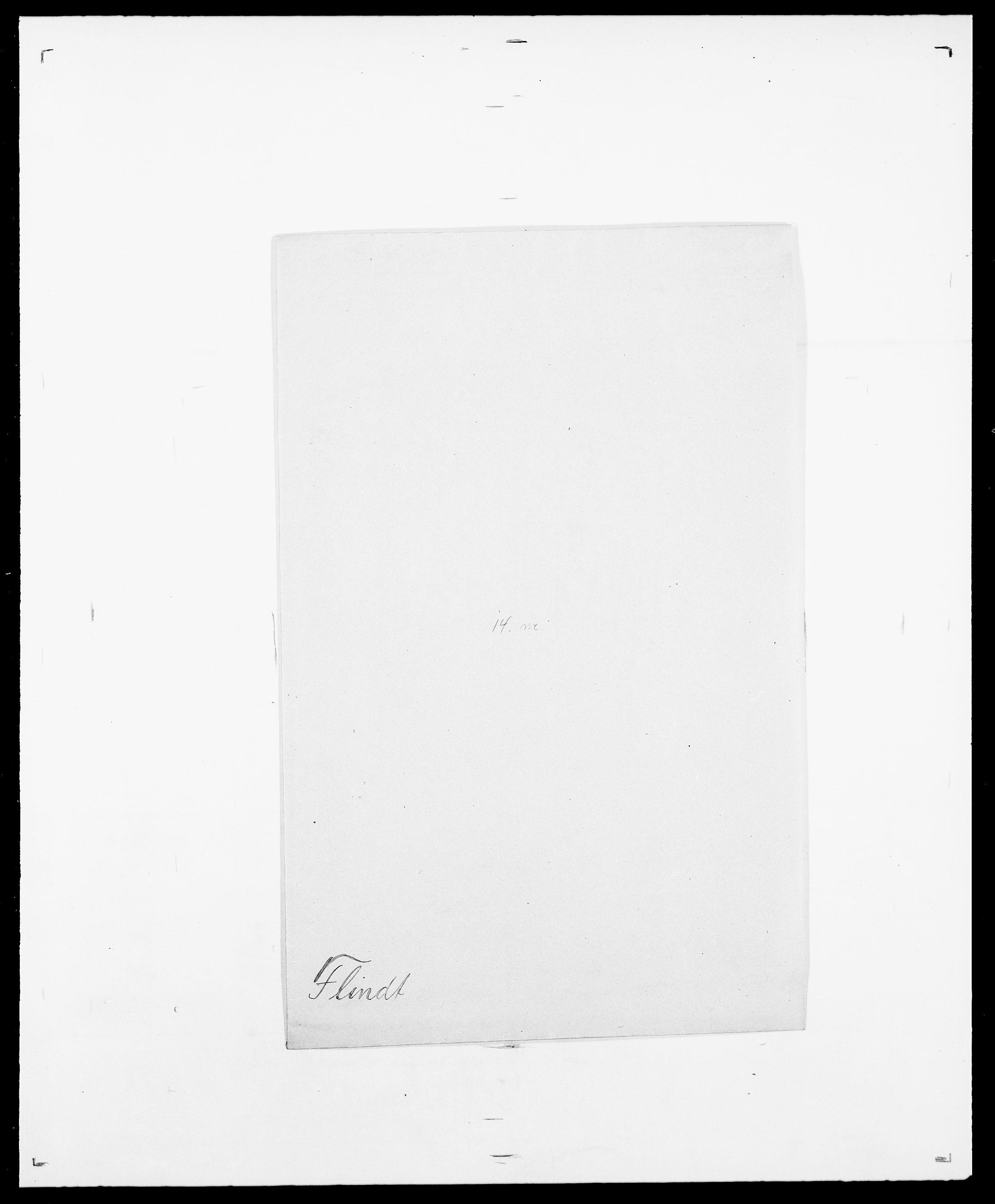 SAO, Delgobe, Charles Antoine - samling, D/Da/L0011: Fahlander - Flood, Flod, s. 640